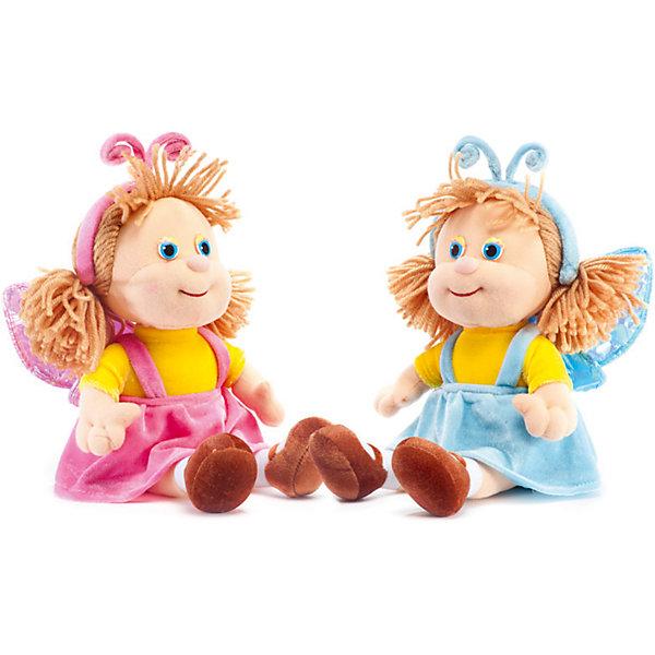 Кукла-бабочка в голубом, музыкальная, LAVAКуклы<br>Эта милая кукла обязательно понравится девочкам! Она одета в костюм бабочки, умеет петь песенку и обязательно позабавит малышку. Волосы куклы изготовлены из ниток, они не запутаются, не требуют постоянного расчесывания, поэтому их удобно заплетать даже самым маленьким девочкам. Игрушка выполнена из высококачественного гипоаллергенного материала, очень приятна на ощупь, абсолютно безопасна для детей.  <br><br>Дополнительная информация:<br><br>- Материал: текстиль, синтепон, пластик.<br>- Высота: 27 см. <br>- Поет песенку. <br>- Элемент питания: батарейка (в комплекте).<br><br>Куклу-бабочку, музыкальную, LAVA (ЛАВА) можно купить в нашем магазине.<br><br>Ширина мм: 150<br>Глубина мм: 150<br>Высота мм: 210<br>Вес г: 290<br>Возраст от месяцев: 36<br>Возраст до месяцев: 1188<br>Пол: Женский<br>Возраст: Детский<br>SKU: 4874283