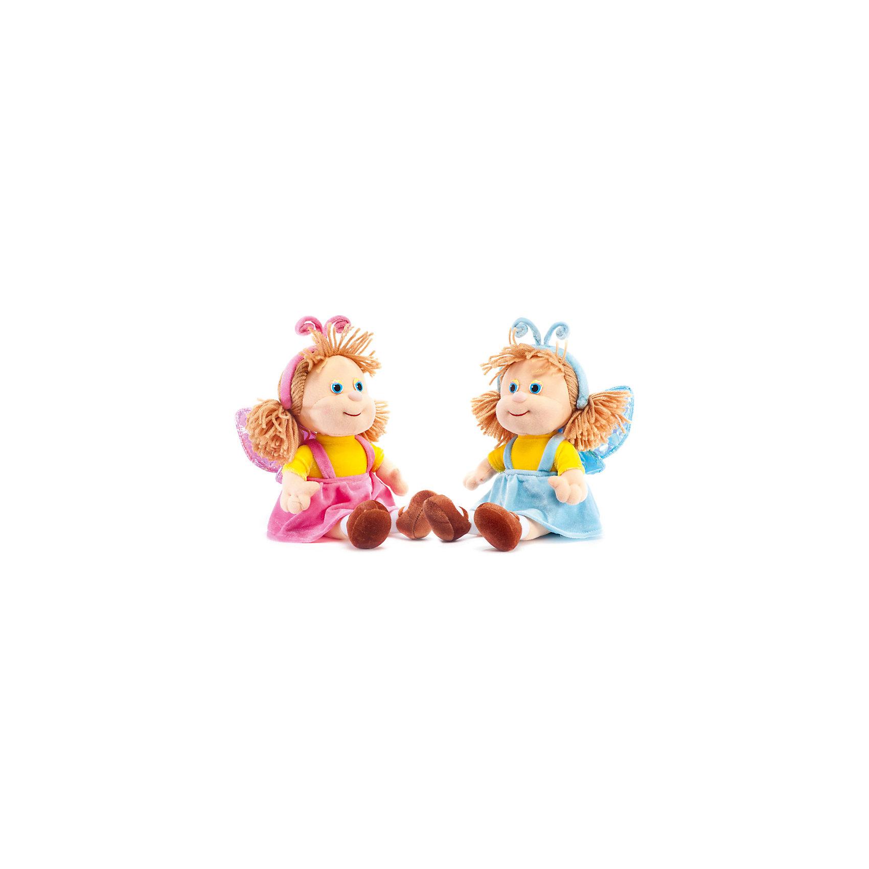 Кукла-бабочка в розовом, музыкальная, LAVAМягкие куклы<br>Эта милая кукла обязательно понравится девочкам! Она одета в костюм бабочки, умеет петь песенку и обязательно позабавит малышку. Волосы куклы изготовлены из ниток, они не запутаются, не требуют постоянного расчесывания, поэтому их удобно заплетать даже самым маленьким девочкам. Игрушка выполнена из высококачественного гипоаллергенного материала, очень приятна на ощупь, абсолютно безопасна для детей.  <br><br>Дополнительная информация:<br><br>- Материал: текстиль, синтепон, пластик.<br>- Высота: 27 см. <br>- Поет песенку. <br>- Элемент питания: батарейка (в комплекте).<br><br>Куклу-бабочку, музыкальную, LAVA (ЛАВА) можно купить в нашем магазине.<br><br>Ширина мм: 150<br>Глубина мм: 150<br>Высота мм: 210<br>Вес г: 290<br>Возраст от месяцев: 36<br>Возраст до месяцев: 1188<br>Пол: Женский<br>Возраст: Детский<br>SKU: 4874284