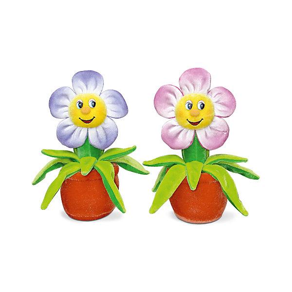Цветок музыкальный, красный, 18 см, LAVAМузыкальные мягкие игрушки<br>Этот цветочек никогда не завянет и всегда будет лучезарно улыбаться и петь веселую песенку! Он выполнен из мягкого, приятного на ощупь материала безопасного даже для малышей. <br><br>Дополнительная информация:<br><br>- Материал: текстиль, синтепон, пластик.<br>- Высота: 18 см. <br>- Поет песенку. <br>- Элемент питания: батарейка (в комплекте).<br><br>Цветок музыкальный, 18 см, LAVA (ЛАВА) можно купить в нашем магазине.<br><br>Ширина мм: 150<br>Глубина мм: 150<br>Высота мм: 180<br>Вес г: 130<br>Возраст от месяцев: 36<br>Возраст до месяцев: 1188<br>Пол: Унисекс<br>Возраст: Детский<br>SKU: 4874288