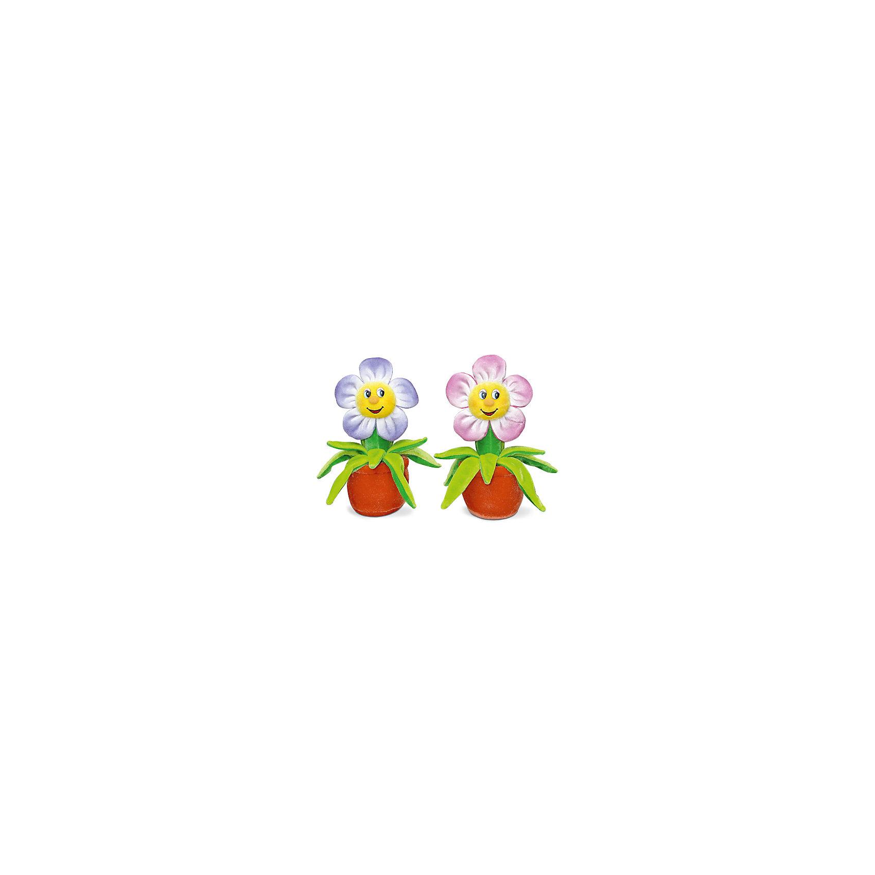 Цветок музыкальный, красный, 18 см, LAVAОзвученные мягкие игрушки<br>Этот цветочек никогда не завянет и всегда будет лучезарно улыбаться и петь веселую песенку! Он выполнен из мягкого, приятного на ощупь материала безопасного даже для малышей. <br><br>Дополнительная информация:<br><br>- Материал: текстиль, синтепон, пластик.<br>- Высота: 18 см. <br>- Поет песенку. <br>- Элемент питания: батарейка (в комплекте).<br><br>Цветок музыкальный, 18 см, LAVA (ЛАВА) можно купить в нашем магазине.<br><br>Ширина мм: 150<br>Глубина мм: 150<br>Высота мм: 180<br>Вес г: 130<br>Возраст от месяцев: 36<br>Возраст до месяцев: 1188<br>Пол: Унисекс<br>Возраст: Детский<br>SKU: 4874288