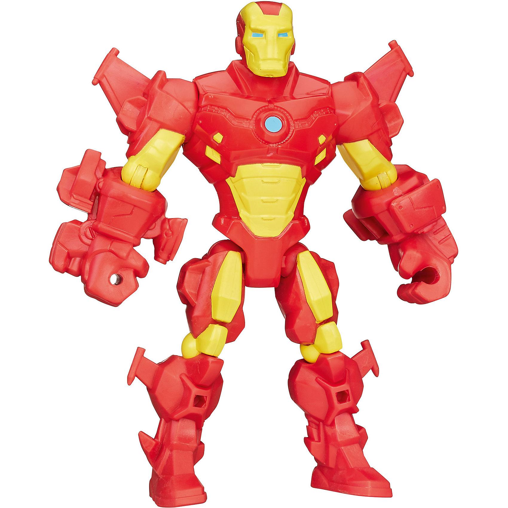 Hasbro Разборная фигурка Марвел Железный человек, Hero Mashers фигурки игрушки hasbro набор микро фигурок марвел