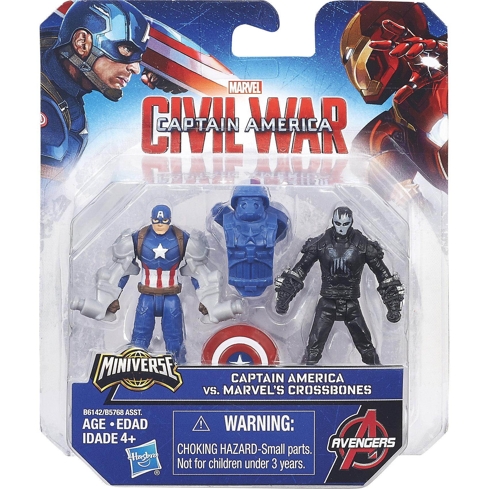 ����� �� 2 ������� ��������� Captain America vs Crossbones (Hasbro)