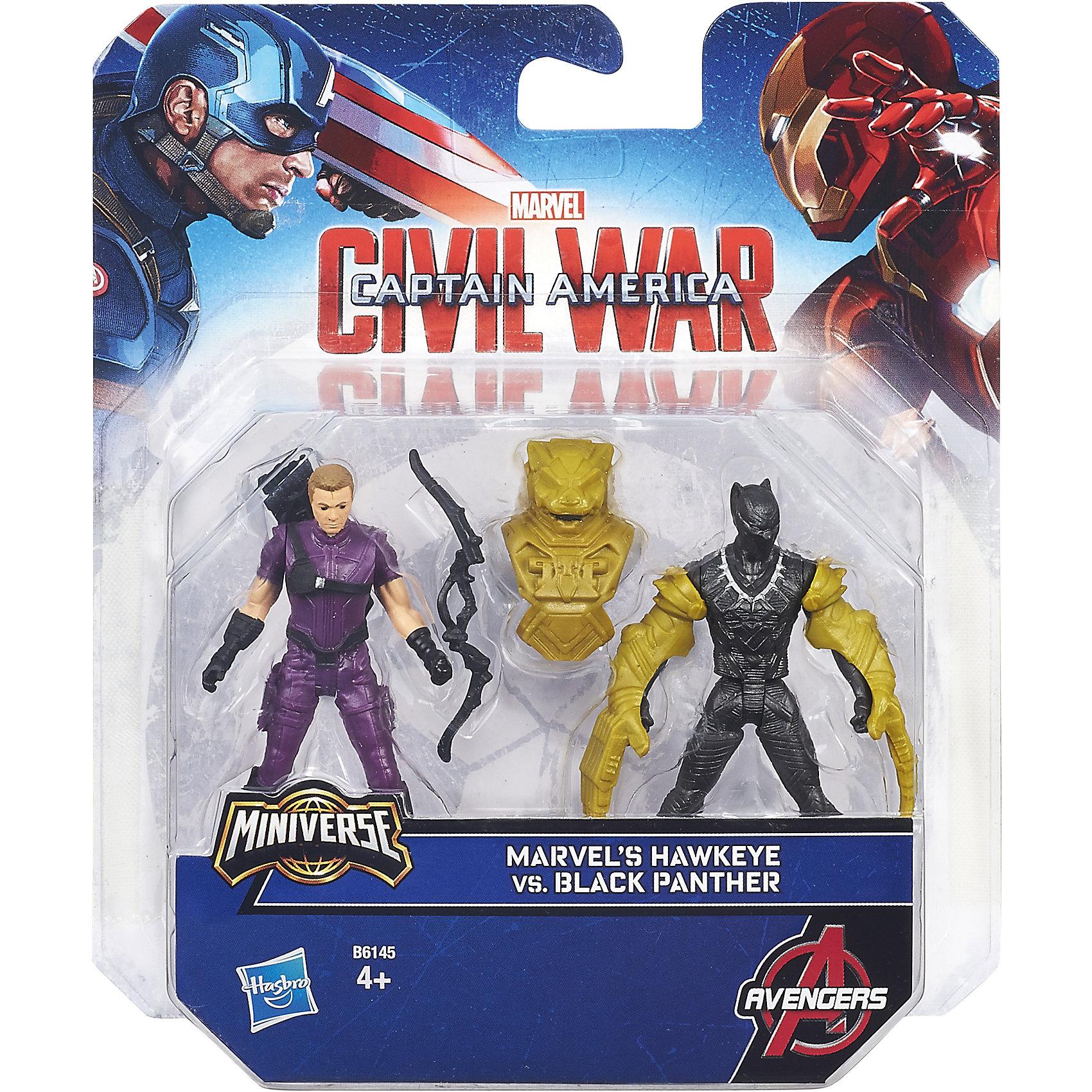 ����� �� 2 ������� ��������� Hawkeye vs Black Panther (Hasbro)