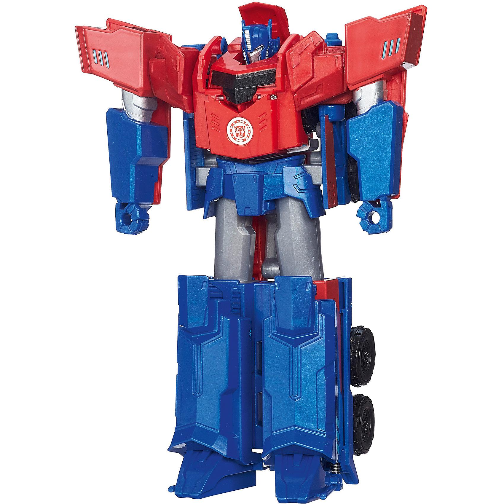 Роботс-ин-Дисгайс Гиперчэндж Оптимус Прайм, ТрансформерыКоллекционные и игровые фигурки<br>Роботс-ин-Дисгайс Гиперчэндж, Трансформеры (Transformers) - большие фигурки любимых персонажей с лёгкой и эффектной трансформацией. Эта игрушка не только понравится всем мальчишкам, она поможет развить мелкую моторику, внимание и фантазию ребенка. Выполнена из высококачественного прочного пластика, безопасного для детей.<br><br>Дополнительная информация:<br><br>- Материал: пластик<br>- Размер упаковки: 8 x 20 х 23 см.<br><br>Роботс-ин-Дисгайс Войны, Трансформеров (Transformers), можно купить в нашем магазине.<br><br>Ширина мм: 79<br>Глубина мм: 203<br>Высота мм: 229<br>Вес г: 300<br>Возраст от месяцев: 60<br>Возраст до месяцев: 120<br>Пол: Мужской<br>Возраст: Детский<br>SKU: 4874303