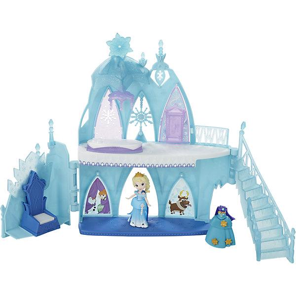 Игровой набор Маленькая кукла Эльза, Холодное СердцеИгрушки<br>В игровых наборах проиграй историю весной появляются Аврора и Рапунцель. Каждый набор упакован в твердый пластиковый кейс, в который можно упаковать все детали набора и удобно носить с собой за ручку. В кейсе есть задник, на котором изображена одна из сцен из истории принцессы. В набор входит кукла и большие аксессуары для игры. Осенью в линейку добавляется Жасмин. Всего 3 разных набора в 2 волны в течение года.<br><br>Ширина мм: 56<br>Глубина мм: 225<br>Высота мм: 200<br>Вес г: 358<br>Возраст от месяцев: 48<br>Возраст до месяцев: 96<br>Пол: Женский<br>Возраст: Детский<br>SKU: 4874307