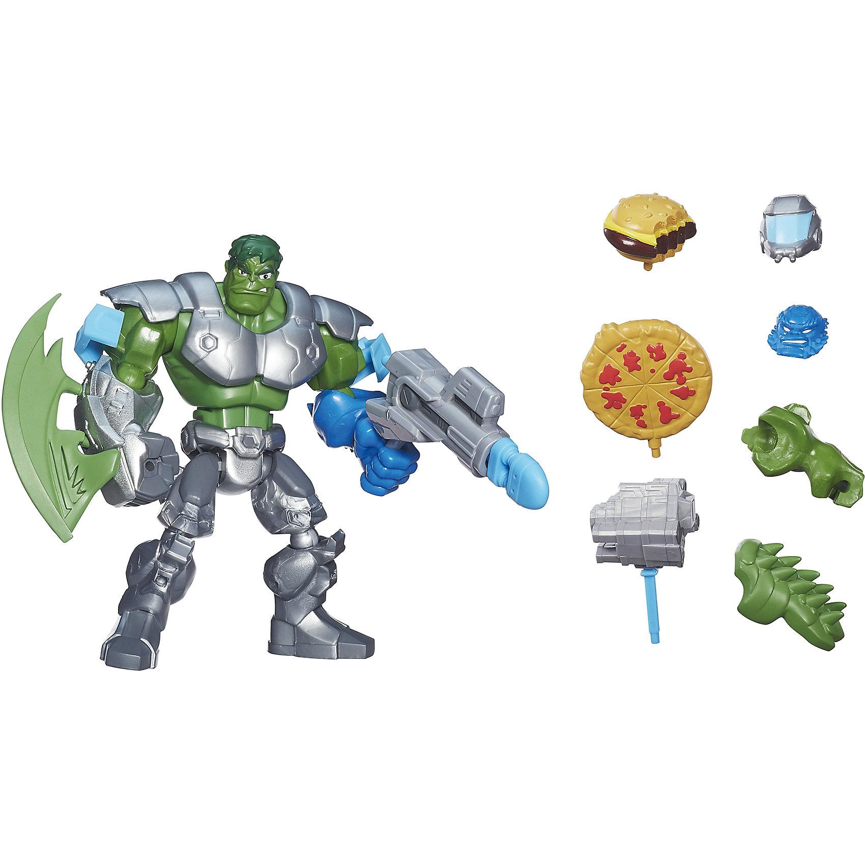 Hasbro Улучшенная разборная фигурка Марвел Халк, Hero Mashers фигурки игрушки hasbro набор микро фигурок марвел