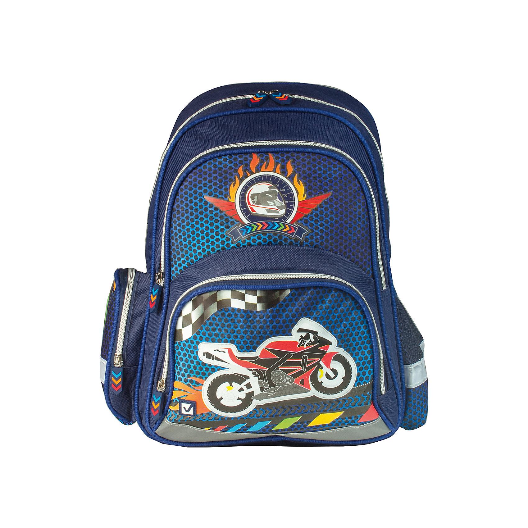 Рюкзак РайдерРюкзак Мотоцикл предназначен для мальчиков 7-10 лет. Он украшен изображением мотоцикла, что обязательно привлечет любителей гонок.<br><br>Ширина мм: 10<br>Глубина мм: 34<br>Высота мм: 11<br>Вес г: 379<br>Возраст от месяцев: 72<br>Возраст до месяцев: 144<br>Пол: Мужской<br>Возраст: Детский<br>SKU: 4874345
