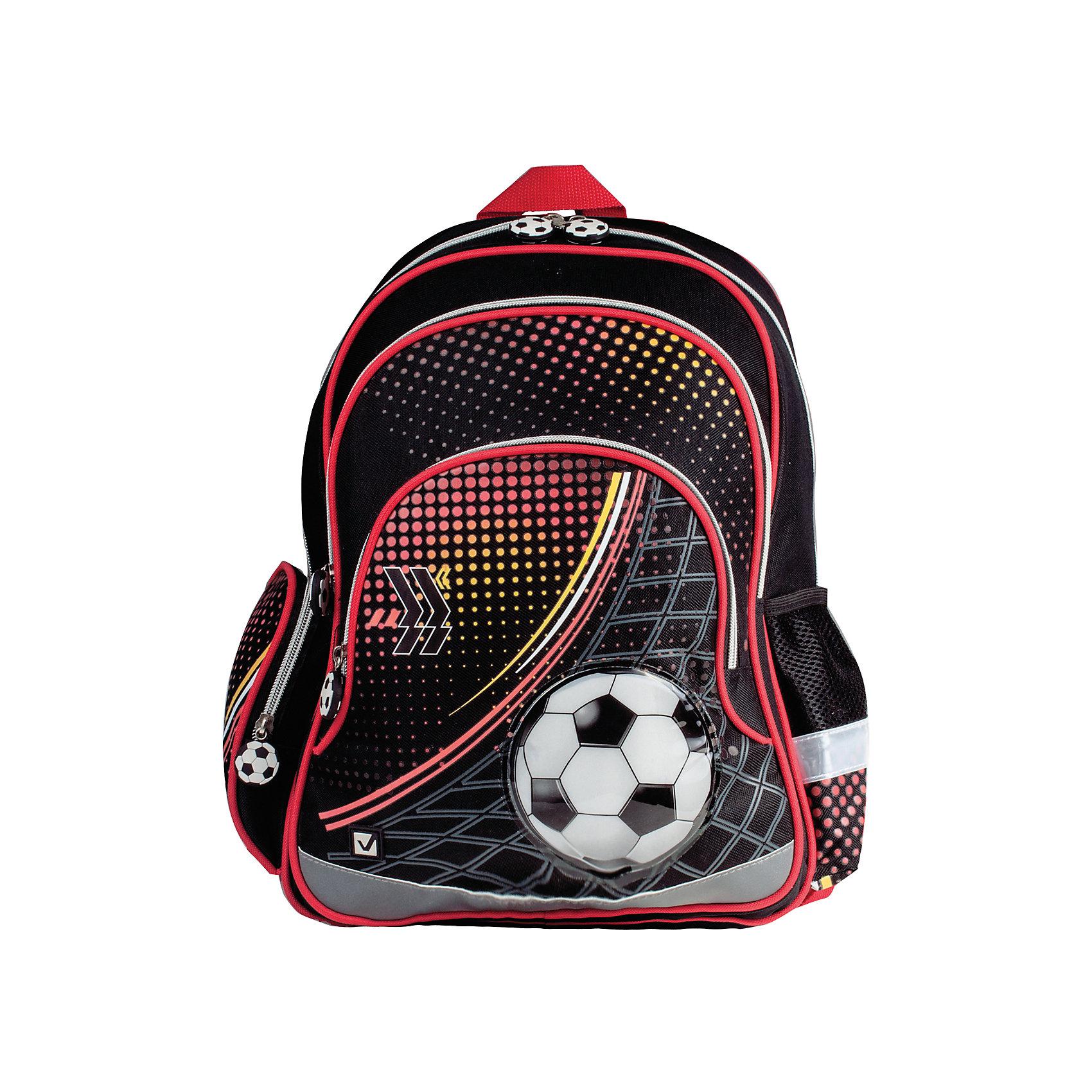 Рюкзак ФутболРюкзак Футбол предназначен для мальчиков 7-10 лет. Он выполнен в черно-красных тонах и украшен изображением футбольного мяча. Такой дизайн, несомненно, заинтересует юных футболистов.<br><br>Ширина мм: 3<br>Глубина мм: 29<br>Высота мм: 39<br>Вес г: 682<br>Возраст от месяцев: 72<br>Возраст до месяцев: 144<br>Пол: Мужской<br>Возраст: Детский<br>SKU: 4874346