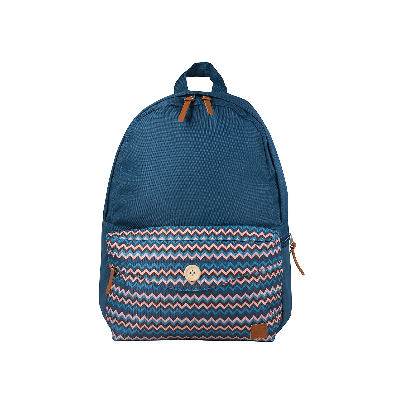 Рюкзак, карман с пуговицей