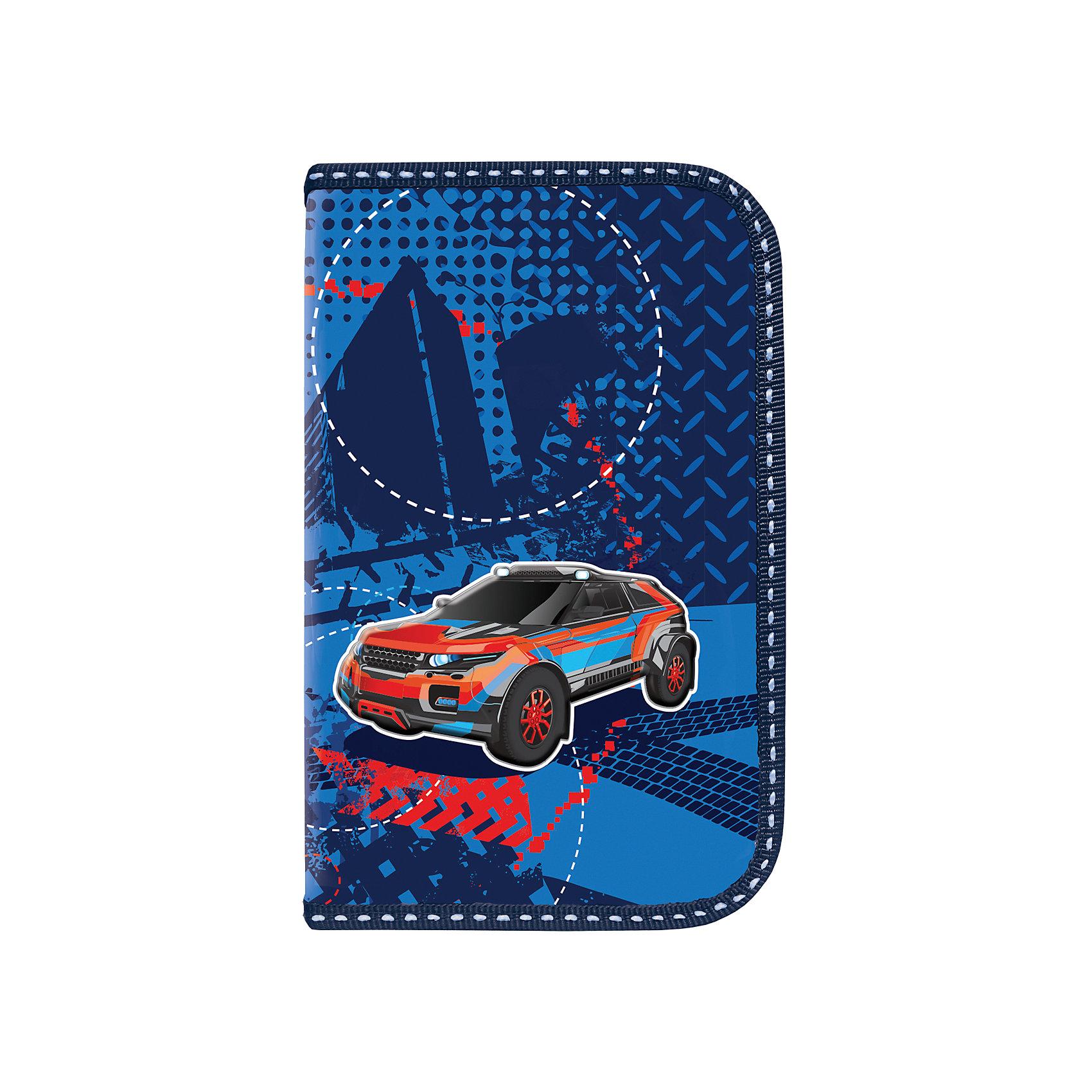 Пенал ВнедорожникПенал Внедорожник предназначен для мальчиков 7-10 лет. Он выполнен в оригинальном сине-голубом дизайне, украшен изображением автомобиля.<br><br>Ширина мм: 11<br>Глубина мм: 18<br>Высота мм: 3<br>Вес г: 90<br>Возраст от месяцев: 72<br>Возраст до месяцев: 144<br>Пол: Мужской<br>Возраст: Детский<br>SKU: 4874366