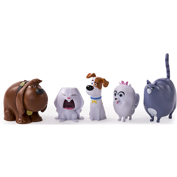 Набор из 5 мини-фигурок, Тайная жизнь домашних животныхФигурки из мультфильмов<br>Набор из 5 мини-фигурок, Тайная жизнь домашних животных (Secret Life of Pets ).<br><br>Характеристика:<br><br>• Материал: пластик.  <br>• Размер упаковки: 17х4х14,6 см. <br>• Размер фигурки: 4 - 5 см. <br>• 5 фигурок в комплекте: терьер Макс, дворняжка Дюк, злобный кролик Снежок, шпиц Гиджет и упитанная кошка Хлоя. <br>• Прекрасно детализированы и реалистично раскрашены. <br><br>Фигурки героев мультфильма Тайная жизнь домашних животных (Secret Life of Pets ), обязательно понравятся детям. Игрушки отлично детализированы, очень похожи на своих мульт-прототипов, изготовлены из высококачественных материалов с использованием только нетоксичных безопасных для детей красителей.<br><br>Набор из 5 мини-фигурок, Тайная жизнь домашних животных (Secret Life of Pets ), можно купить в нашем интернет-магазине.<br><br>Ширина мм: 155<br>Глубина мм: 125<br>Высота мм: 45<br>Вес г: 153<br>Возраст от месяцев: 36<br>Возраст до месяцев: 144<br>Пол: Унисекс<br>Возраст: Детский<br>SKU: 4875040