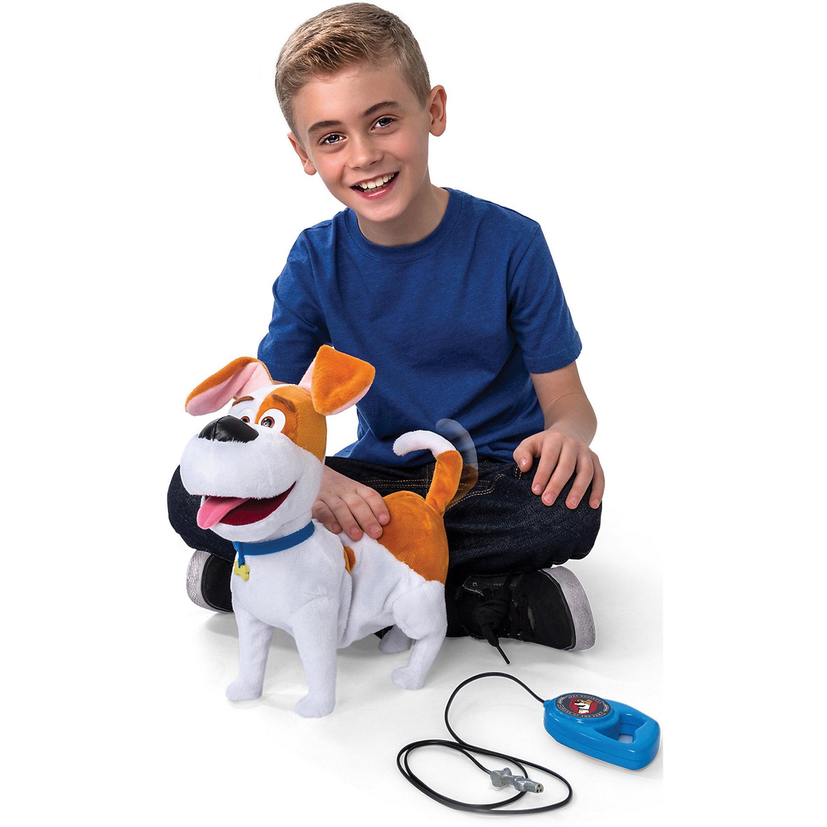 Плюшевый герой Макс (ходит, звук. и др. эффекты), Тайная жизнь домашних животных