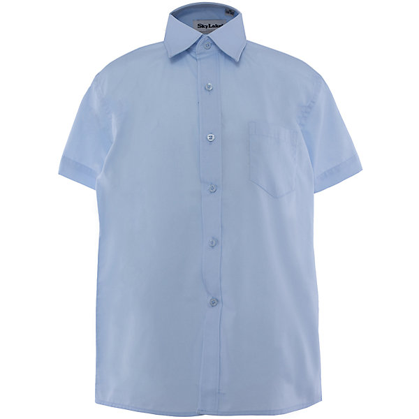Купить Рубашка для мальчика Skylake, Россия, голубой, 128, 152, 146, 122, 134, 140, 158, Мужской