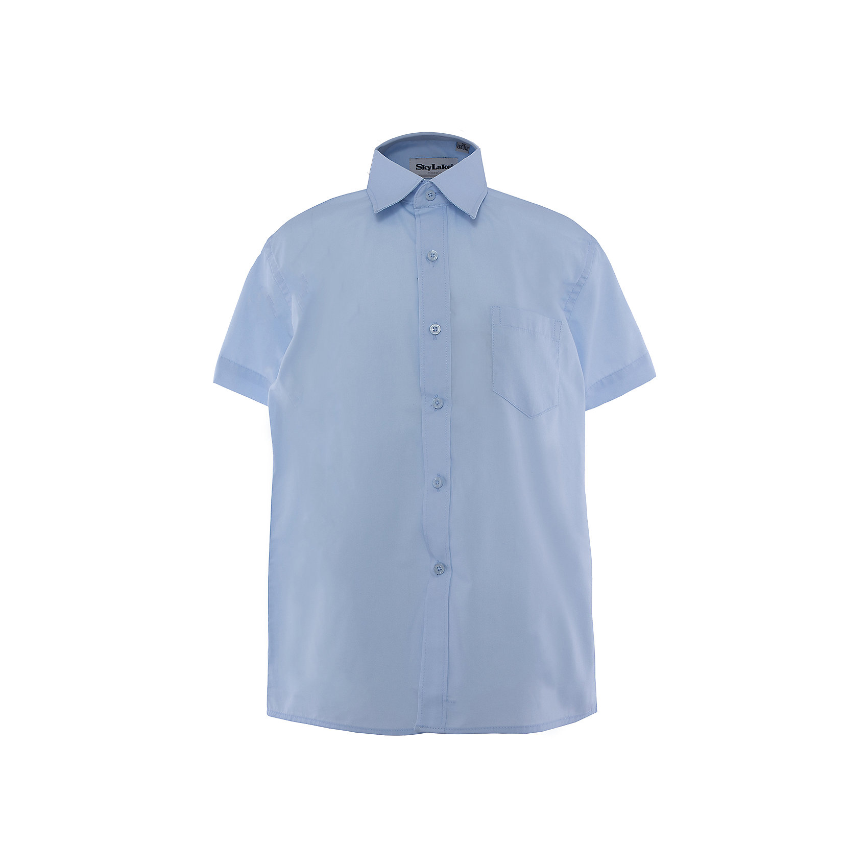 Рубашка для мальчика SkylakeСорочка классическая для мальчика<br>Состав:<br>80% хлопок, 20% п/э<br><br>Ширина мм: 174<br>Глубина мм: 10<br>Высота мм: 169<br>Вес г: 157<br>Цвет: голубой<br>Возраст от месяцев: 96<br>Возраст до месяцев: 108<br>Пол: Мужской<br>Возраст: Детский<br>Размер: 134,122,128,140,158,152,146<br>SKU: 4877743