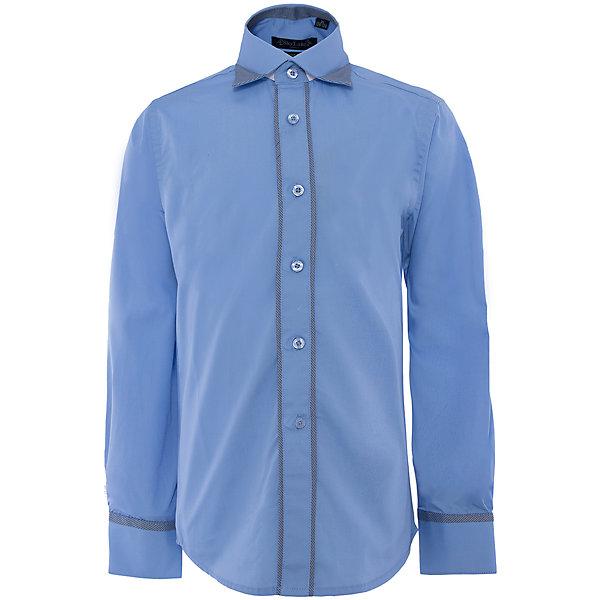 Рубашка для мальчика SkylakeБлузки и рубашки<br>Сорочка классическая для мальчика<br>Состав:<br>80% хлопок, 20% п/э<br><br>Ширина мм: 174<br>Глубина мм: 10<br>Высота мм: 169<br>Вес г: 157<br>Цвет: синий<br>Возраст от месяцев: 144<br>Возраст до месяцев: 156<br>Пол: Мужской<br>Возраст: Детский<br>Размер: 158,140,128,152,134,122,146<br>SKU: 4877751