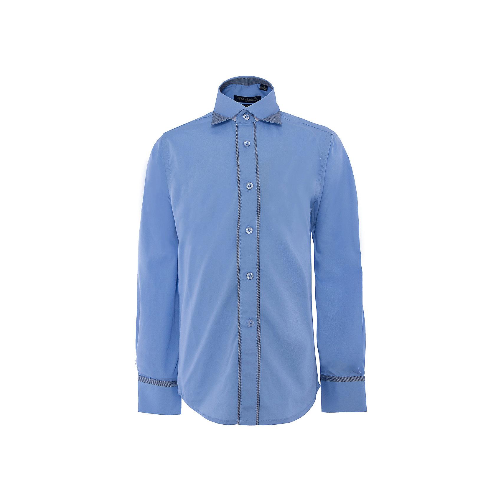 Рубашка для мальчика SkylakeБлузки и рубашки<br>Сорочка классическая для мальчика<br>Состав:<br>80% хлопок, 20% п/э<br><br>Ширина мм: 174<br>Глубина мм: 10<br>Высота мм: 169<br>Вес г: 157<br>Цвет: синий<br>Возраст от месяцев: 132<br>Возраст до месяцев: 144<br>Пол: Мужской<br>Возраст: Детский<br>Размер: 152,140,158,146,122,134,128<br>SKU: 4877751