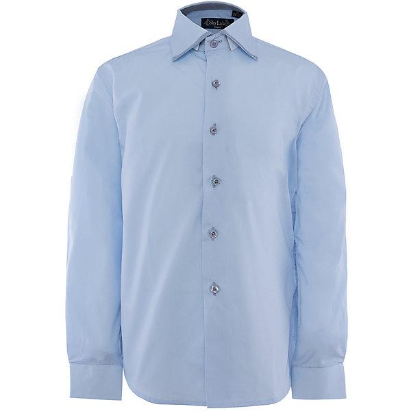 Рубашка для мальчика PREMIUM SkylakeБлузки и рубашки<br>Рубашка для мальчика PREMIUM от известного бренда Skylake<br>Состав:<br>80%хлопок 20%п/э<br>Ширина мм: 174; Глубина мм: 10; Высота мм: 169; Вес г: 157; Цвет: голубой; Возраст от месяцев: 96; Возраст до месяцев: 108; Пол: Мужской; Возраст: Детский; Размер: 134,152,146,128,158,122,140; SKU: 4877767;