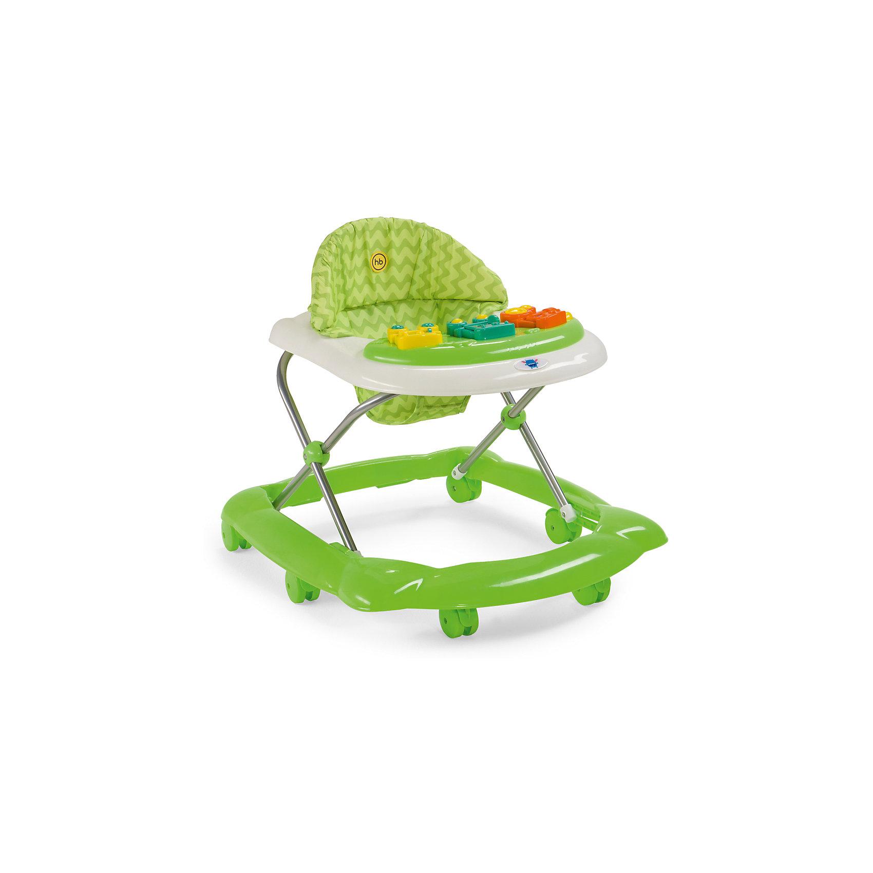 Happy Baby Ходунки Pioneer, Happy baby, зеленый happy baby ходунки smiley v2 цвет голубой
