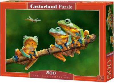 Пазл Лягушки , 500 деталей, Castorland