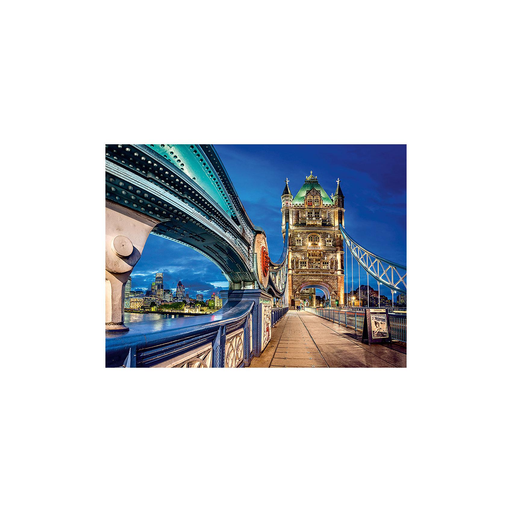 Пазл Тауэрский мост, 2000 деталей, Castorland<br><br>Ширина мм: 385<br>Глубина мм: 50<br>Высота мм: 275<br>Вес г: 1000<br>Возраст от месяцев: 144<br>Возраст до месяцев: 1188<br>Пол: Унисекс<br>Возраст: Детский<br>SKU: 4879207