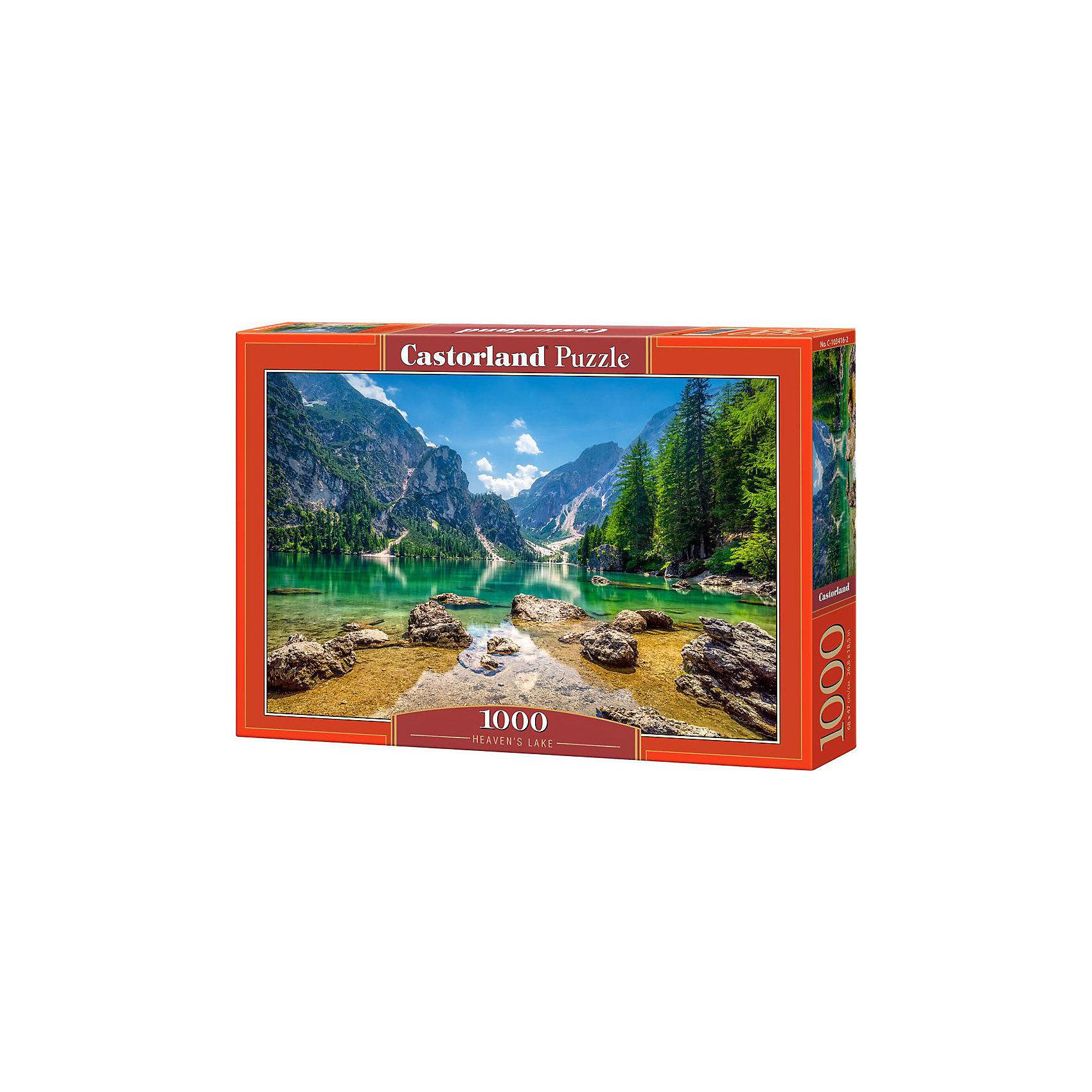 Castorland Пазл Озеро в горах, 1000 деталей, Castorland паззл castorland 1000 эл 68 47см озеро канада