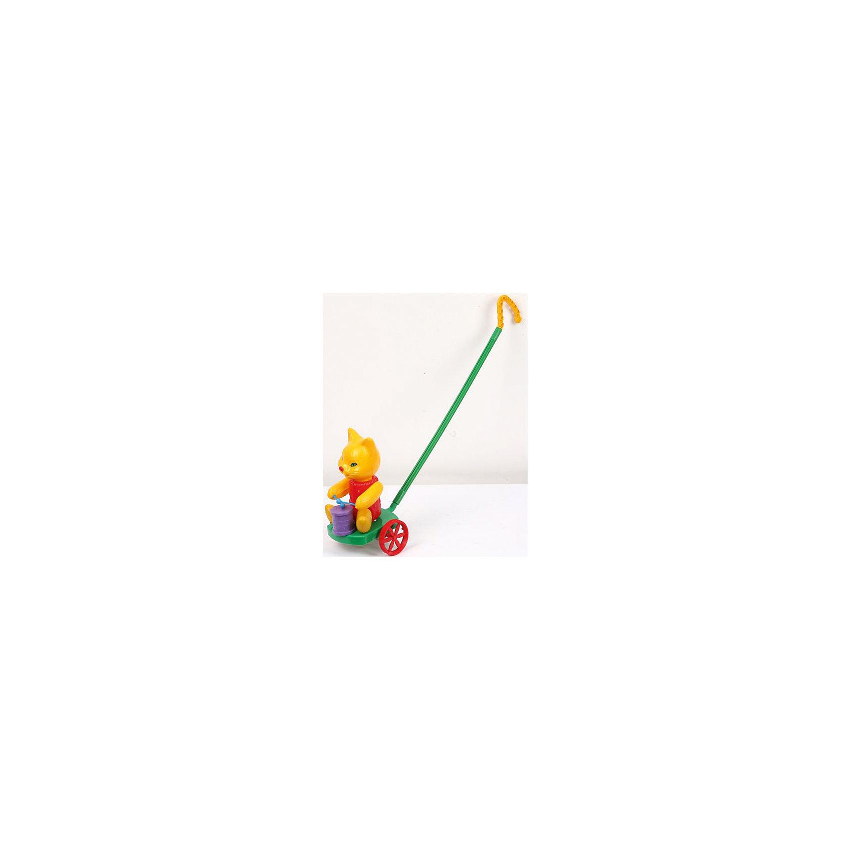 Каталка Кот с барабаном, Madex toysИгрушки-каталки<br>Яркая игрушка-каталка создана специально для деток, которые уже умеет или только начали ходить! <br><br>Дополнительная информация:<br><br>- Возраст: от 2 лет.<br>- Материал: высококачественная пластмасса.<br>- Размер упаковки: 16,5х16,5х40 см.<br>- Вес в упаковке: 260 г.<br><br>Купить каталку Кот с барабаном от Madex toys, можно в нашем магазине.<br><br>Ширина мм: 165<br>Глубина мм: 165<br>Высота мм: 400<br>Вес г: 260<br>Возраст от месяцев: 24<br>Возраст до месяцев: 48<br>Пол: Унисекс<br>Возраст: Детский<br>SKU: 4879306