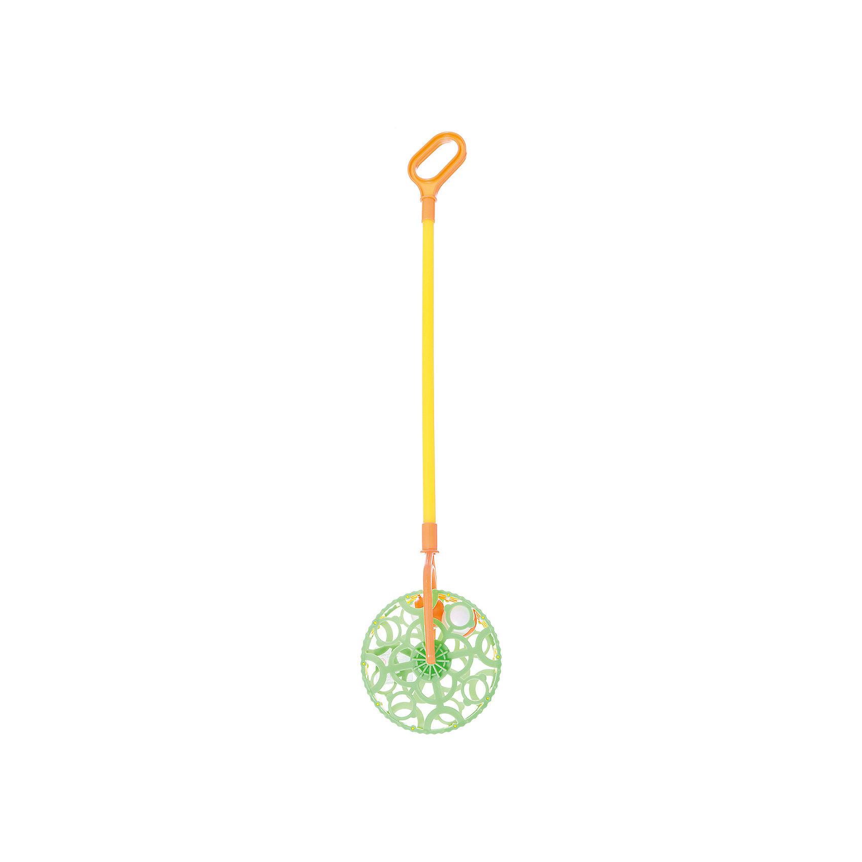 Каталка-погремушка, СовтехстромЯркая каталка-погремушка, с очень удобной ручкой, знакомит малыша с миром цветов и учит малыша ориентироваться в пространстве. <br><br>Дополнительная информация:<br><br>- Возраст: от 2 лет.<br>- Материал: пластик.<br>- Размер упаковки: 6х15х50 см.<br>- Вес в упаковке: 140 г.<br><br>Купить каталку-погремушку, можно в нашем магазине.<br><br>Ширина мм: 60<br>Глубина мм: 150<br>Высота мм: 500<br>Вес г: 140<br>Возраст от месяцев: 24<br>Возраст до месяцев: 48<br>Пол: Унисекс<br>Возраст: Детский<br>SKU: 4879325