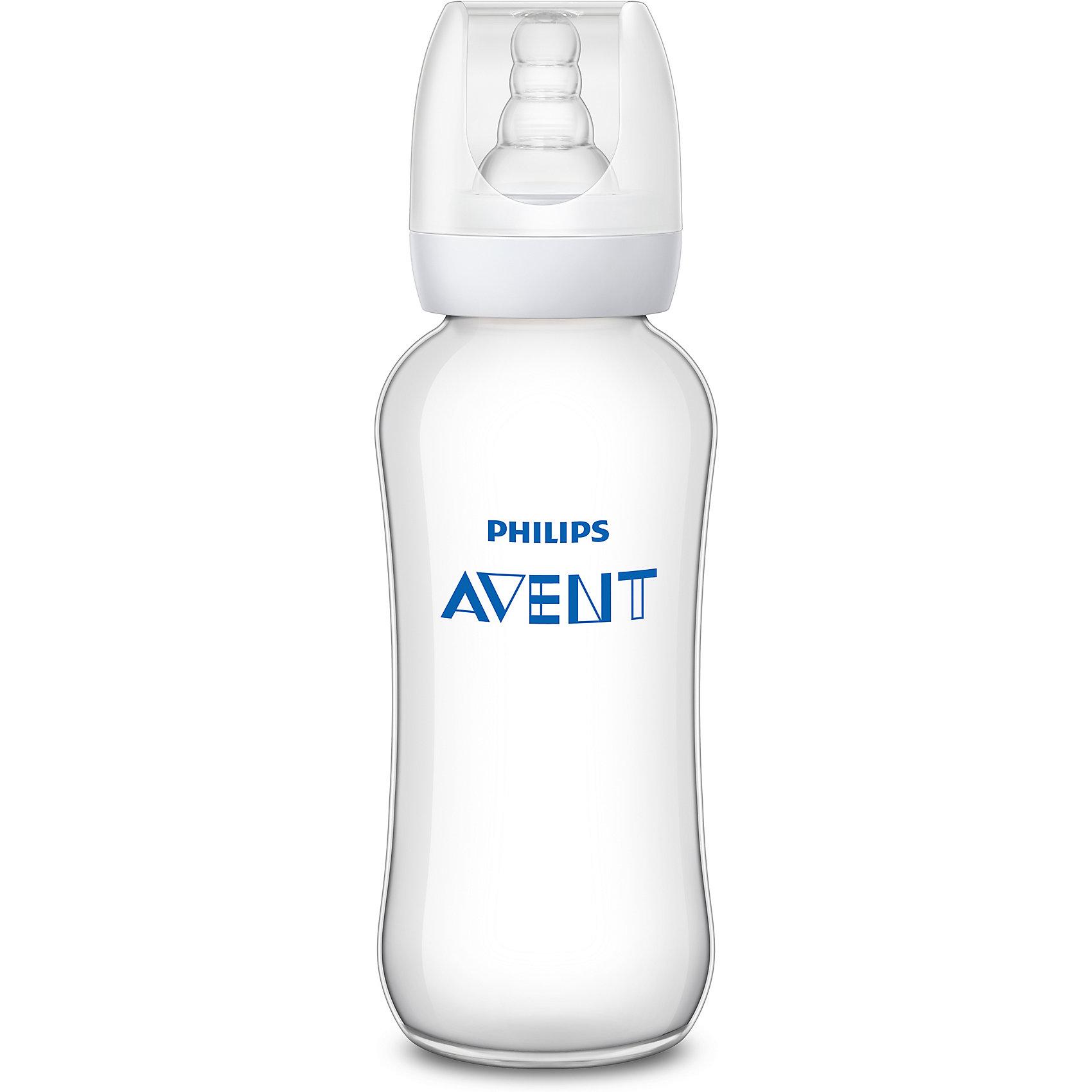 Бутылочка Standard 300 мл., 6 мес+, Philips Avent300 - 380 мл.<br>Philips Avent Standard - это очень удобная бутылочка с соской для кормления. <br><br>Особенности:<br>- Мягкая соска со специальными ребрами жесткости поможет малышу легко захватить соску.<br>- Антиколиковый клапан пропускает воздух в бутылочку, а не в живот ребенка.<br>- Бутылочка не протекает во время кормления.<br>- Бутылочка изготовлена из материала, не содержащего   бисфенол-А. (0% BPA). <br><br>Дополнительная информация: <br><br>- Возраст: с 6 месяцев.<br>- Объем: 300 мл.<br>- Материал: силикон, полипропилен.<br>- Размер упаковки: 6,4х6,4х20,6 см.<br>- Вес в упаковке: 72 г.<br><br>Купить бутылочку Standard от Philips Avent, можно в нашем магазине.<br><br>Ширина мм: 64<br>Глубина мм: 64<br>Высота мм: 206<br>Вес г: 72<br>Возраст от месяцев: 6<br>Возраст до месяцев: 2147483647<br>Пол: Унисекс<br>Возраст: Детский<br>SKU: 4880869