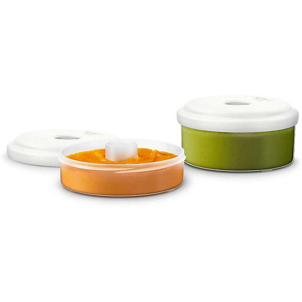 Контейнеры для хранения 2шт., Philips AventДетская посуда<br>Это многофункциональные и достаточно удобные контейнеры для хранения. Разработаны специально для порционного хранения детской еды. Контейнеры можно хранить в холодильнике или морозильной камере, так же можно разогревать в микроволновой печи. <br><br>Дополнительная информация:<br><br>- Объем: 120 и 240 мл.<br>- Кол-во в наборе: 2 шт.<br>- Размер упаковки: 12х12х10,5 см.<br>- Вес в упаковке: 232 г.<br><br>Купить контейнеры для хранения Philips Avent можно в нашем магазине.<br>Ширина мм: 120; Глубина мм: 120; Высота мм: 105; Вес г: 232; Возраст от месяцев: 0; Возраст до месяцев: 36; Пол: Унисекс; Возраст: Детский; SKU: 4880870;