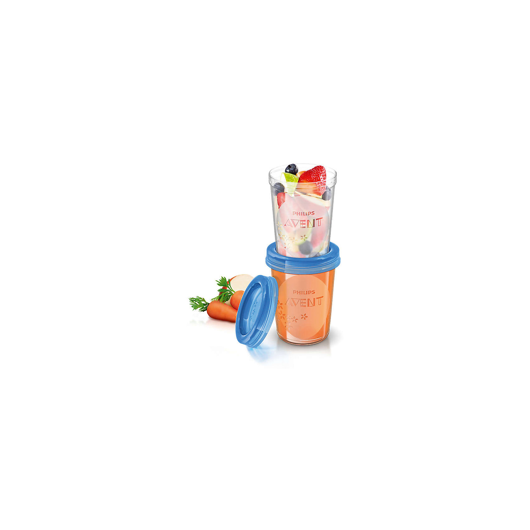 Контейнеры с крышками для хранения питания, 5 шт. 240 мл, Philips AventКонтейнеры<br>Такой набор контейнеров для хранения позволит эффективней сцеживать и хранить грудное молоко. <br><br>Особенности:<br>- Имеют надежную, герметичную крышку для лучшего хранения и транспортировки.<br>- Перед использованием изделие необходимо тщательно промыть.<br>- Контейнеры можно стерилизовать.<br>- Не содержит бисфенол-А.<br><br>Дополнительная информация:<br><br>- Объем: 240 мл.<br>- Кол-во в упаковке: 5 шт.<br>- Размер упаковки: 8х8х20 см.<br>- Вес в упаковке: 172 г.<br><br>Купить контейнеры с крышками для хранения питания от Philips Avent   можно в нашем магазине.<br><br>Ширина мм: 80<br>Глубина мм: 80<br>Высота мм: 200<br>Вес г: 172<br>Возраст от месяцев: 0<br>Возраст до месяцев: 36<br>Пол: Унисекс<br>Возраст: Детский<br>SKU: 4880877