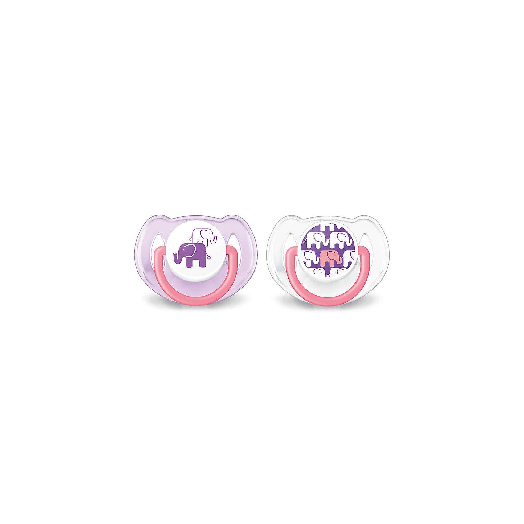 Соска-пустышка 6-18 мес, 2 шт, «Дизайн», Philips Avent, фиолетовый/белыйПустышки из силикона<br>Симметричная и мягкая соска-пустышка прекрасно подойдет для Вашего малыша! <br>Соска учитывает строение и естественное развитие неба, зубов и десен ребенка.<br><br>Дополнительная информация:<br><br>- Возраст: с 6 до 18 месяцев.<br>- Кол-во в упаковке: 2 шт.<br>- Цвет: фиолетовй/белый.<br>- Состав: высококачественный силикон.<br>- Размер упаковки: 4,8х10,3х11,5 см.<br>- Вес в упаковке: 54 г. <br><br>Купить соску-пустышку Дизайн от Philips Avent, можно в нашем магазине.<br><br>Ширина мм: 48<br>Глубина мм: 103<br>Высота мм: 115<br>Вес г: 54<br>Возраст от месяцев: 6<br>Возраст до месяцев: 18<br>Пол: Женский<br>Возраст: Детский<br>SKU: 4880889