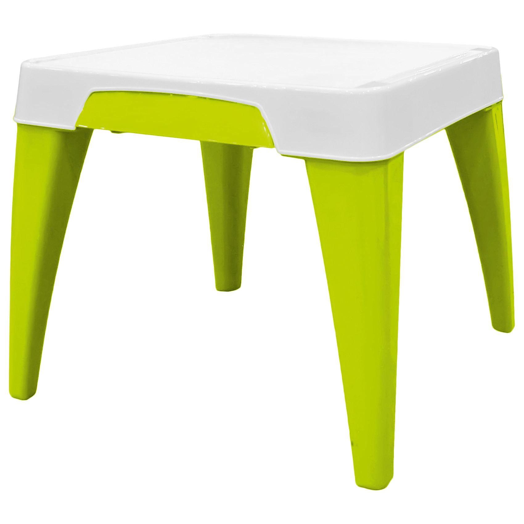 Детский стол Я расту, Little Angel, салатовыйМебель<br>Детский стол Я расту, Little Angel, салатовый ? это детская мебель серии Я расту от отечественного производителя . Детский стол изготовлен из экологически безопасных материалов ? полипропилена и ПВХ ? это сочетание обеспечивает легкость мебели, прочность, устойчивость к физическим и химическим воздействиям. Окраска стола обладает высокой устойчивостью цвета к внешним воздействиям. <br>Детский стол Я расту, Little Angel, салатовый предназначен для детей в возрасте от 2-х лет, подходит для приема пищи, занятий или игр. Является абсолютно безопасным с точки зрения эксплуатации для маленьких детей: у столешницы закругленные углы, ножки стола имеют округлую форму. Сбоку столешницы имеется выдвижной ящик, в котором удобно будет хранить карандаши, фломастеры и краски. На столешнице имеются углубления, что защищает от падения на пол канцелярских принадлежностей, а также не позволяет пролившейся воде из стаканчика стечь на пол или ковер. На ножках стола имеются прорезиненные накладки, которые обеспечивают хорошее сцепление практически с любой поверхностью. <br>Детский стол Я расту, Little Angel, салатовый ? идеальное решение для оформления детского уголка не только дома, но и на даче.<br><br>Дополнительная информация:<br><br>- Предназначение: для дома, для детских садов, для детских развивающих центров<br>- Цвет: розовый<br>- Пол: для девочки/для мальчика<br>- Материал: полипропилен, ПВХ<br>- Размер (Д*Ш*В): 57*57*50 см<br>- Вес: 3 кг 588 г<br>- Особенности ухода: разрешается мыть теплой мыльной водой<br><br>Подробнее:<br><br>• Для детей в возрасте: от 2 лет и до 6 лет<br>• Страна производитель: Россия<br>• Торговый бренд: Little Angel<br><br>Детский стол Я расту, Little Angel, салатовый можно купить в нашем интернет-магазине.<br><br>Ширина мм: 570<br>Глубина мм: 570<br>Высота мм: 150<br>Вес г: 3588<br>Возраст от месяцев: 24<br>Возраст до месяцев: 72<br>Пол: Унисекс<br>Возраст: Детский<br>SKU: 4881748