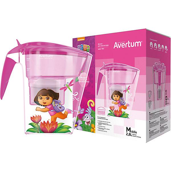 Фильтр-кувшин для очистки воды «Детский» 2,8 л. «Даша путешественница», Little Angel, розовыйДетская посуда<br>Фильтр-кувшин для очистки воды «Детский» 2,8 л. «Даша путешественница», Little Angel, розовый изготовлен отечественным производителем . Фильтр выполнен из высококачественного экологически безопасного пластика, который не содержит фенол. Данная серия детских фильтров состоит из кувшина, откидной крышки с клапаном и самого фильтра. Очищение воды проходит через 5-ти ступенчатую фильтрацию, которая позволяет не только очистить воду, но и обогатить ее полезными микроэлементами. Для удобства эксплуатации кувшин оснащен нескользящим дном, на крышке фильтра имеется электронный индикатор ресурса картриджа. Фильтр-кувшин имеет универсальную форму воронки, поэтому к нему подойдут картриджи, отвечающие требованиям европейского стандарта.<br>Фильтр-кувшин для очистки воды «Детский» 2,8 л. «Даша путешественница», Little Angel, розовый выполнен в ярком современном дизайне: на кувшине имеется сюжетная наклейка с путешествующей Дашей.<br>Фильтр-кувшин для очистки воды «Детский» 2,8 л. «Даша путешественница», Little Angel, розовый ? это удобство использования и гарантия чистой и полезной воды.<br><br>Дополнительная информация:<br><br>- Предназначение: для дома<br>- Цвет: розовый<br>- Пол: для девочки<br>- Материал: пластик<br>- Размер (Д*Ш*В): 25,5*15*27,3 см<br>- Объем: 2,8 л<br>- Вес: 854 г<br>- Периодичность смены картриджа: 1 раз в месяц<br>- Особенности ухода: разрешается мыть теплой водой<br><br>Подробнее:<br><br>• Для детей в возрасте: от 3 лет и до 14 лет<br>• Страна производитель: Россия<br>• Торговый бренд: Little Angel<br><br>Фильтр-кувшин для очистки воды «Детский» 2,8 л. «Даша путешественница», Little Angel, розовый можно купить в нашем интернет-магазине.<br><br>Ширина мм: 255<br>Глубина мм: 150<br>Высота мм: 273<br>Вес г: 854<br>Возраст от месяцев: 36<br>Возраст до месяцев: 168<br>Пол: Женский<br>Возраст: Детский<br>SKU: 4881753