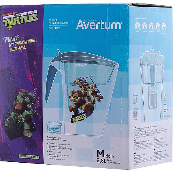Фильтр-кувшин для очистки воды «Детский» 2,8 л. «Черепашки ниндзя», Little Angel, бирюзовыйДетская посуда<br>Фильтр-кувшин для очистки воды «Детский» 2,8 л. «Черепашки ниндзя», Little Angel, бирюзовый изготовлен отечественным производителем . Фильтр выполнен из высококачественного экологически безопасного пластика, который не содержит фенол. Данная серия детских фильтров состоит из кувшина, откидной крышки с клапаном и самого фильтра. Очищение воды проходит через 5-ти ступенчатую фильтрацию, которая позволяет не только очистить воду, но и обогатить ее полезными микроэлементами. Для удобства эксплуатации кувшин оснащен нескользящим дном, на крышке фильтра имеется электронный индикатор ресурса картриджа. Фильтр-кувшин имеет универсальную форму воронки, поэтому к нему подойдут картриджи, отвечающие требованиям европейского стандарта.<br>Фильтр-кувшин для очистки воды «Детский» 2,8 л. «Черепашки ниндзя», Little Angel, бирюзовый выполнен в ярком современном дизайне: на кувшине имеется сюжетная наклейка с черепашками ниндзя.<br>Фильтр-кувшин для очистки воды «Детский» 2,8 л. «Черепашки ниндзя», Little Angel, бирюзовый ? это удобство использования и гарантия чистой и полезной воды.<br><br>Дополнительная информация:<br><br>- Предназначение: для дома<br>- Цвет: бирюзовый<br>- Пол: для мальчика<br>- Материал: пластик<br>- Размер (Д*Ш*В): 25,5*15*27,3 см<br>- Объем: 2,8 л<br>- Вес: 854 г<br>- Периодичность смены картриджа: 1 раз в месяц<br>- Особенности ухода: разрешается мыть теплой водой<br><br>Подробнее:<br><br>• Для детей в возрасте: от 3 лет и до 14 лет<br>• Страна производитель: Россия<br>• Торговый бренд: Little Angel<br><br>Фильтр-кувшин для очистки воды «Детский» 2,8 л. «Черепашки ниндзя», Little Angel, бирюзовый можно купить в нашем интернет-магазине.<br><br>Ширина мм: 255<br>Глубина мм: 150<br>Высота мм: 273<br>Вес г: 854<br>Возраст от месяцев: 36<br>Возраст до месяцев: 168<br>Пол: Мужской<br>Возраст: Детский<br>SKU: 4881754