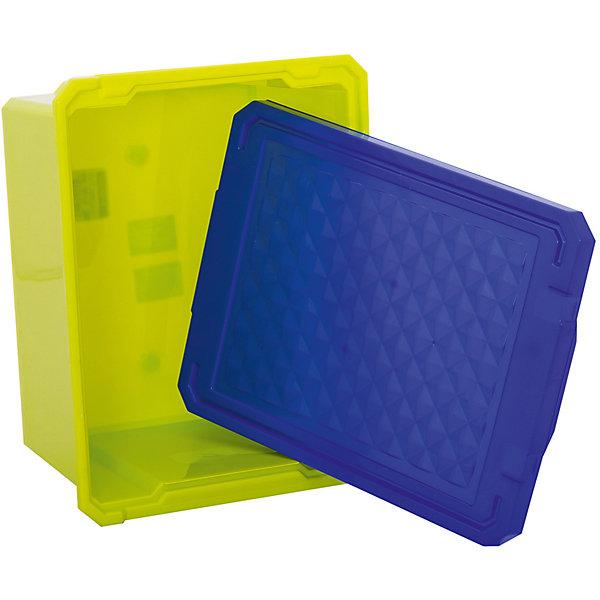 Ящик для хранения игрушек малый 17л, Little Angel, фисташковыйЯщики для игрушек<br>Ящик для хранения игрушек малый 17 л, Little Angel, фисташковый изготовлен отечественным производителем . Выполненный из высококачественного пластика, устойчивого к внешним повреждениям и изменению цвета, ящик станет не только необходимым предметом для хранения детских игрушек и принадлежностей, но и украсит детскую комнату своим ярким дизайном. Ящик выполнен в фисташковом цвете, крышка – ярко синяя. Ящик оснащен крышкой, что защитит хранящиеся в нем предметы от пыли. <br>Ящик для хранения игрушек малый 17 л, Little Angel, фисташковый достаточно прост в уходе, его можно протирать влажной губкой или мыть в теплой воде. <br><br>Дополнительная информация:<br><br>- Предназначение: для дома<br>- Цвет: фисташковый<br>- Пол: для мальчика/для девочки<br>- Материал: пластик<br>- Размер (Д*Ш*В): 40,5*30,5*21 см<br>- Объем: 17 л<br>- Вес: 661 г<br>- Особенности ухода: разрешается мыть теплой водой<br><br>Подробнее:<br><br>• Для детей в возрасте: от 2 лет и до 7 лет<br>• Страна производитель: Россия<br>• Торговый бренд: Little Angel<br><br>Ящик для хранения игрушек малый 17 л, Little Angel, фисташковый можно купить в нашем интернет-магазине.<br>Ширина мм: 405; Глубина мм: 305; Высота мм: 210; Вес г: 661; Возраст от месяцев: 24; Возраст до месяцев: 84; Пол: Унисекс; Возраст: Детский; SKU: 4881770;