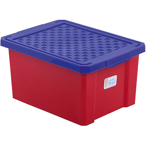 Ящик для хранения игрушек малый 17л, Little Angel, красный легоЯщики для игрушек<br>Ящик для хранения игрушек малый 17 л, Little Angel, красный лего изготовлен отечественным производителем . Выполненный из высококачественного пластика, устойчивого к внешним повреждениям и изменению цвета, ящик станет не только необходимым предметом для хранения детских игрушек и принадлежностей, но и украсит детскую комнату своим ярким дизайном. Ящик выполнен в красном цвете, крышка – ярко синяя. Ящик оснащен крышкой, что защитит хранящиеся в нем предметы от пыли. <br>Ящик для хранения игрушек малый 17 л, Little Angel, красный лего достаточно прост в уходе, его можно протирать влажной губкой или мыть в теплой воде. <br><br>Дополнительная информация:<br><br>- Предназначение: для дома<br>- Цвет: красный<br>- Пол: для мальчика/для девочки<br>- Материал: пластик<br>- Размер (Д*Ш*В): 40,5*30,5*21 см<br>- Объем: 17 л<br>- Вес: 661 г<br>- Особенности ухода: разрешается мыть теплой водой<br><br>Подробнее:<br><br>• Для детей в возрасте: от 2 лет и до 7 лет<br>• Страна производитель: Россия<br>• Торговый бренд: Little Angel<br><br>Ящик для хранения игрушек малый 17 л, Little Angel, красный лего можно купить в нашем интернет-магазине.<br>Ширина мм: 405; Глубина мм: 305; Высота мм: 210; Вес г: 661; Возраст от месяцев: 24; Возраст до месяцев: 84; Пол: Унисекс; Возраст: Детский; SKU: 4881771;