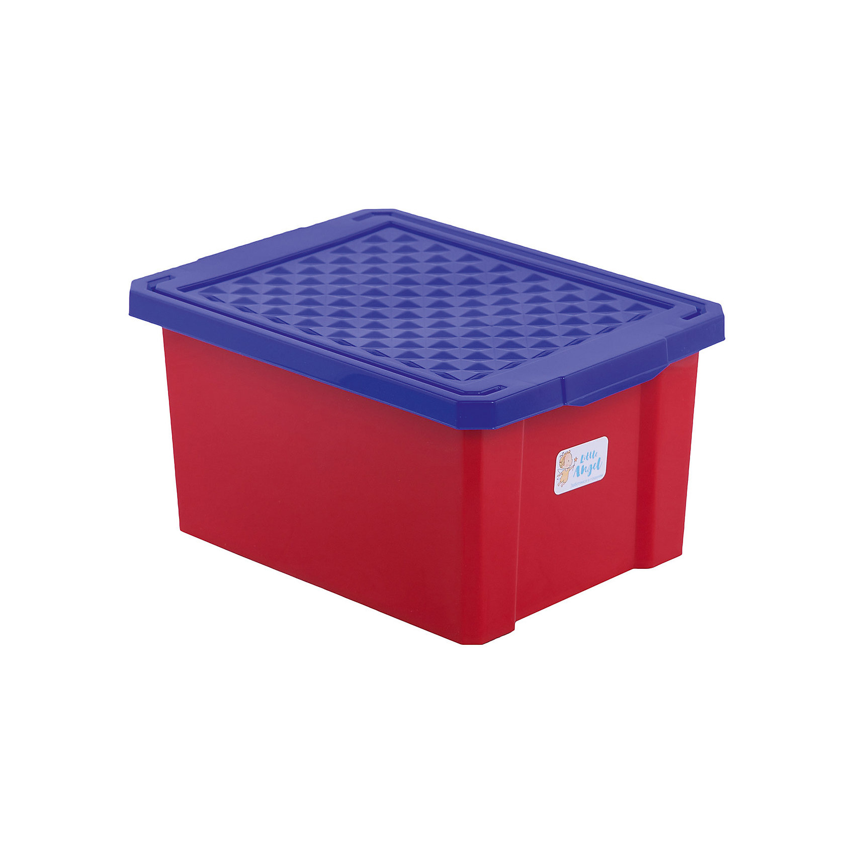 Ящик для хранения игрушек малый 17л, Little Angel, красный легоПорядок в детской<br>Ящик для хранения игрушек малый 17 л, Little Angel, красный лего изготовлен отечественным производителем . Выполненный из высококачественного пластика, устойчивого к внешним повреждениям и изменению цвета, ящик станет не только необходимым предметом для хранения детских игрушек и принадлежностей, но и украсит детскую комнату своим ярким дизайном. Ящик выполнен в красном цвете, крышка – ярко синяя. Ящик оснащен крышкой, что защитит хранящиеся в нем предметы от пыли. <br>Ящик для хранения игрушек малый 17 л, Little Angel, красный лего достаточно прост в уходе, его можно протирать влажной губкой или мыть в теплой воде. <br><br>Дополнительная информация:<br><br>- Предназначение: для дома<br>- Цвет: красный<br>- Пол: для мальчика/для девочки<br>- Материал: пластик<br>- Размер (Д*Ш*В): 40,5*30,5*21 см<br>- Объем: 17 л<br>- Вес: 661 г<br>- Особенности ухода: разрешается мыть теплой водой<br><br>Подробнее:<br><br>• Для детей в возрасте: от 2 лет и до 7 лет<br>• Страна производитель: Россия<br>• Торговый бренд: Little Angel<br><br>Ящик для хранения игрушек малый 17 л, Little Angel, красный лего можно купить в нашем интернет-магазине.<br><br>Ширина мм: 405<br>Глубина мм: 305<br>Высота мм: 210<br>Вес г: 661<br>Возраст от месяцев: 24<br>Возраст до месяцев: 84<br>Пол: Унисекс<br>Возраст: Детский<br>SKU: 4881771