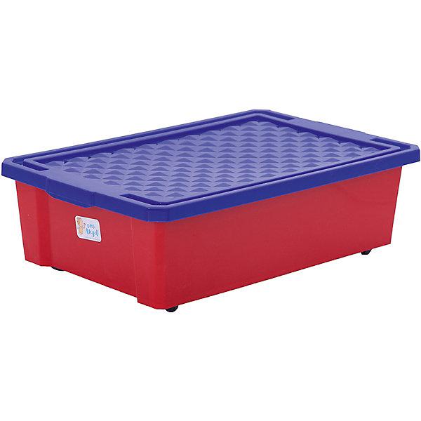 Ящик для хранения игрушек средний 30л, Little Angel, красный легоЯщики для игрушек<br>Ящик для хранения игрушек средний 30 л, Little Angel, красный лего изготовлен отечественным производителем . Выполненный из высококачественного пластика, устойчивого к внешним повреждениям и изменению цвета, ящик станет не только необходимым предметом для хранения детских игрушек и принадлежностей, но и украсит детскую комнату своим ярким дизайном. Ящик оснащен крышкой, что защитит хранящиеся в нем предметы от пыли.<br>Ящик для хранения игрушек средний 30 л, Little Angel, красный лего достаточно прост в уходе, его можно протирать влажной губкой или мыть в теплой воде. <br><br>Дополнительная информация:<br><br>- Предназначение: для дома<br>- Цвет: красный<br>- Пол: для мальчика/для девочки<br>- Материал: пластик<br>- Размер (Д*Ш*В): 61*40,5*19,3 см<br>- Объем: 30 л<br>- Вес: 1 кг 314 г<br>- Особенности ухода: разрешается мыть теплой водой<br><br>Подробнее:<br><br>• Для детей в возрасте: от 2 лет и до 7 лет<br>• Страна производитель: Россия<br>• Торговый бренд: Little Angel<br><br>Ящик для хранения игрушек средний 30 л, Little Angel, красный лего можно купить в нашем интернет-магазине.<br><br>Ширина мм: 610<br>Глубина мм: 405<br>Высота мм: 193<br>Вес г: 1345<br>Возраст от месяцев: 24<br>Возраст до месяцев: 84<br>Пол: Унисекс<br>Возраст: Детский<br>SKU: 4881773