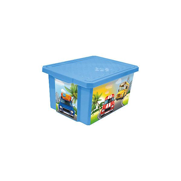 Ящик для хранения игрушек X-BOX City Cars 17л, Little Angel, голубойЯщики для игрушек<br>Ящик для хранения игрушек X-BOX City Cars 17 л, Little Angel, голубой изготовлен отечественным производителем . Выполненный из высококачественного пластика, устойчивого к внешним повреждениям и изменению цвета, ящик станет не только необходимым предметом для хранения детских игрушек и принадлежностей, но и украсит детскую комнату своим ярким дизайном. По бокам ящика с помощью инновационной технологии нанесены картинки, изображающие городской транспорт.<br>Ящик оснащен крышкой, что защитит хранящиеся в нем предметы от пыли. Компактный размер ящика идеально подходит для хранения принадлежностей для детского творчества: рисования, лепки, аппликации или рукоделия. <br>Ящик для хранения игрушек X-BOX City Cars 17 л, Little Angel, голубой достаточно прост в уходе, его можно протирать влажной губкой или мыть в теплой воде. <br><br>Дополнительная информация:<br><br>- Предназначение: для дома<br>- Цвет: голубой<br>- Пол: для мальчика<br>- Материал: пластик<br>- Размер (Д*Ш*В): 40,5*30,5*21 см<br>- Объем: 17 л<br>- Вес: 661 г<br>- Особенности ухода: разрешается мыть теплой водой<br><br>Подробнее:<br><br>• Для детей в возрасте: от 2 лет и до 7 лет<br>• Страна производитель: Россия<br>• Торговый бренд: Little Angel<br><br>Ящик для хранения игрушек X-BOX City Cars 17л, Little Angel, голубой можно купить в нашем интернет-магазине.<br><br>Ширина мм: 405<br>Глубина мм: 305<br>Высота мм: 210<br>Вес г: 661<br>Возраст от месяцев: 24<br>Возраст до месяцев: 84<br>Пол: Мужской<br>Возраст: Детский<br>SKU: 4881776