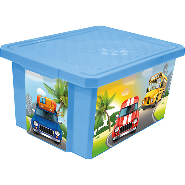 Ящик для хранения игрушек X-BOX City Cars 57л на колесах, Little Angel, голубой небесныйЯщики для игрушек<br>Ящик для хранения игрушек X-BOX City Cars 57 л на колесах, Little Angel, голубой небесный изготовлен отечественным производителем . Выполненный из высококачественного пластика, устойчивого к внешним повреждениям и изменению цвета, ящик станет не только необходимым предметом для хранения детских игрушек и принадлежностей, но и украсит детскую комнату своим ярким дизайном. Он выполнен в голубом цвете, по бокам нанесены устойчивые к повреждению картинки городского транспорта. Ящик оснащен крышкой, что защитит хранящиеся в нем предметы от пыли. Ящик оснащен колесиками, что позволяет его легко передвигать по помещению даже ребенку.<br>Ящик для хранения игрушек X-BOX City Cars 57 л на колесах, Little Angel, голубой небесный достаточно прост в уходе, его можно протирать влажной губкой или мыть в теплой воде. <br><br>Дополнительная информация:<br><br>- Предназначение: для дома<br>- Цвет: голубой небесный<br>- Пол: для мальчика<br>- Материал: пластик<br>- Размер (Д*Ш*В): 61*40,5*33 см<br>- Объем: 57 л<br>- Вес: 1 кг 956 г<br>- Особенности ухода: разрешается мыть теплой водой<br><br>Подробнее:<br><br>• Для детей в возрасте: от 2 лет и до 7 лет<br>• Страна производитель: Россия<br>• Торговый бренд: Little Angel<br><br>Ящик для хранения игрушек X-BOX City Cars 30 л на колесах, Little Angel, голубой небесный можно купить в нашем интернет-магазине.<br>Ширина мм: 610; Глубина мм: 405; Высота мм: 330; Вес г: 1956; Возраст от месяцев: 24; Возраст до месяцев: 84; Пол: Мужской; Возраст: Детский; SKU: 4881781;