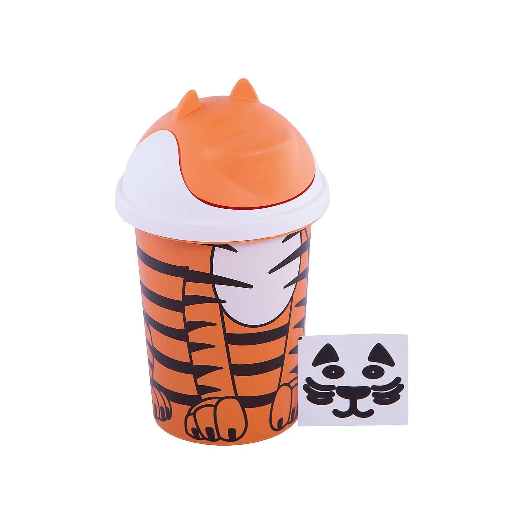 Корзина для игрушек 10 л. Jungle, Little Angel, оранжевыйПорядок в детской<br>Корзина для игрушек 10 л. Jungle, Little Angel, оранжевый изготовлена отечественным производителем . Выполненная из высококачественного пластика, устойчивого к внешним повреждениям и изменению цвета, корзина станет не только необходимым предметом для хранения детских игрушек и принадлежностей, но и украсит детскую комнату своим ярким дизайном. Корзина выполнена в форме забавного тигренка с откидывающейся круглой крышкой, которая имитирует мордочку животного.<br>Компактный размер идеально подходит для хранения детских игрушек в небольших помещениях. <br>Корзина для игрушек 10 л. Jungle, Little Angel, оранжевый  достаточно прост в уходе, его можно протирать влажной губкой или мыть в теплой воде. <br><br>Дополнительная информация:<br><br>- Предназначение: для дома<br>- Цвет: оранжевый, черный<br>- Пол: для мальчика/для девочки<br>- Материал: пластик<br>- Размер (Д*Ш*В): 27*27*44 см<br>- Объем: 12 л<br>- Вес: 464 г<br>- Особенности ухода: разрешается мыть теплой водой<br><br>Подробнее:<br><br>• Для детей в возрасте: от 2 лет и до 7 лет<br>• Страна производитель: Россия<br>• Торговый бренд: Little Angel<br><br>Корзину для игрушек 10 л. Jungle, Little Angel, оранжевый  можно купить в нашем интернет-магазине.<br><br>Ширина мм: 270<br>Глубина мм: 270<br>Высота мм: 440<br>Вес г: 464<br>Возраст от месяцев: 24<br>Возраст до месяцев: 84<br>Пол: Унисекс<br>Возраст: Детский<br>SKU: 4881789