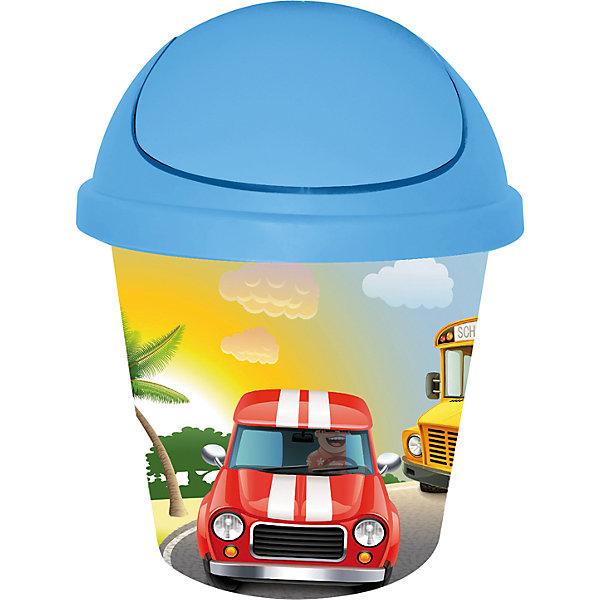 Мусорная корзина круглая 7 л. City Cars, Little Angel, голубойМусорные ведра<br>Мусорная корзина круглая 7 л. City Cars, Little Angel, голубой изготовлена отечественным производителем . Выполненная из высококачественного пластика, устойчивого к внешним повреждениям и изменению цвета, корзина позволит не только поддерживать чистоту, но и украсит детскую комнату своим ярким дизайном. По бокам корзины с помощью инновационной технологии нанесены картинки, изображающие машины городского транспорта.<br>Мусорная корзина оснащена вращающейся откидной крышкой, которая снимается, что позволит аккуратно убирать мусор, вставлять мусорный мешок, а также мыть. <br><br>Дополнительная информация:<br><br>- Предназначение: для дома<br>- Цвет: голубой<br>- Пол: для мальчика<br>- Материал: пластик<br>- Размер (Д*Ш*В): 26,7*26,7*33 см<br>- Объем: 7 л<br>- Вес: 370 г<br>- Особенности ухода: разрешается мыть теплой водой<br><br>Подробнее:<br><br>• Для детей в возрасте: от 2 лет и до 7 лет<br>• Страна производитель: Россия<br>• Торговый бренд: Little Angel<br><br>Мусорную корзину круглую 7 л. City Cars, Little Angel, голубой можно купить в нашем интернет-магазине.<br><br>Ширина мм: 267<br>Глубина мм: 267<br>Высота мм: 330<br>Вес г: 370<br>Возраст от месяцев: 24<br>Возраст до месяцев: 84<br>Пол: Мужской<br>Возраст: Детский<br>SKU: 4881790