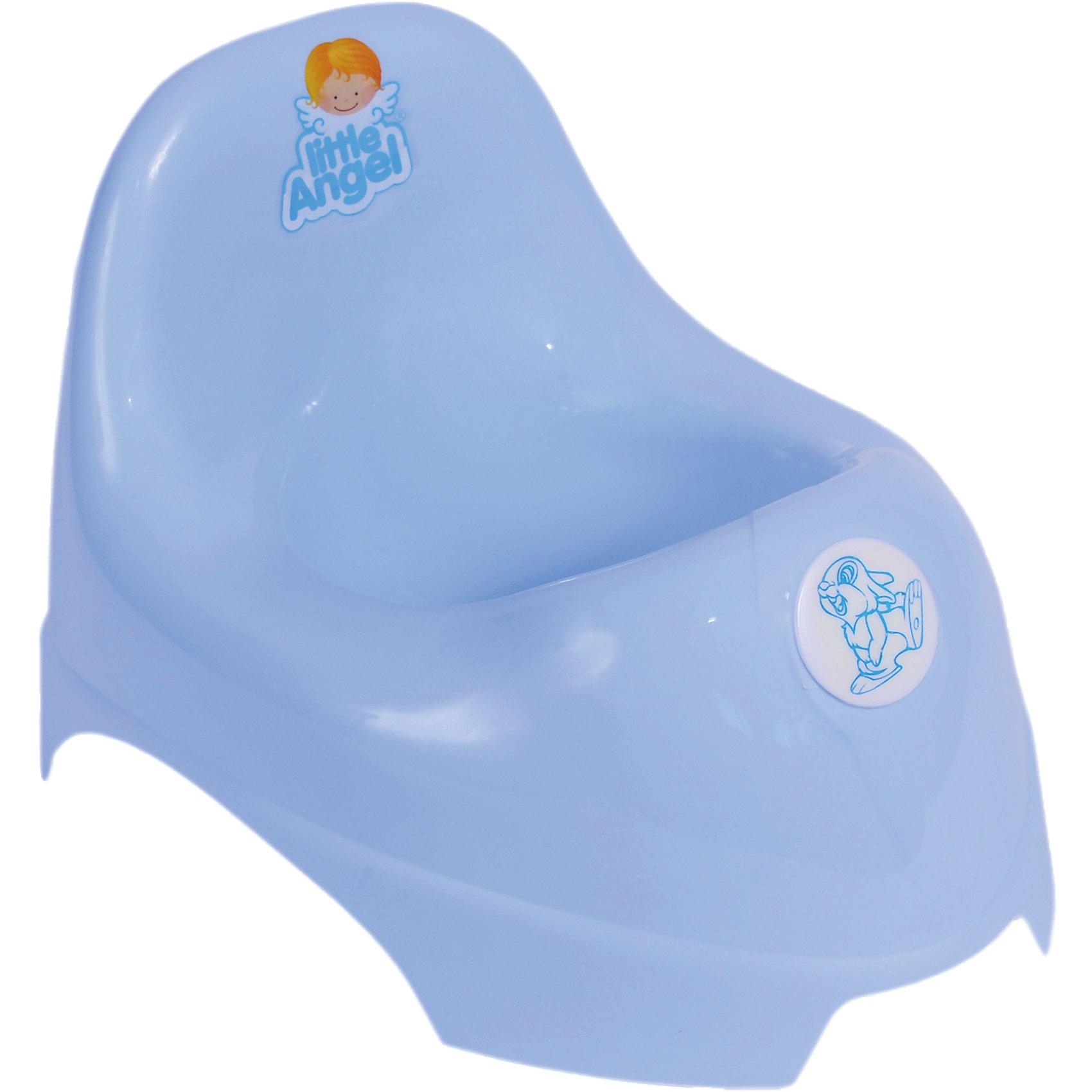 Горшок, Little Angel, голубойГоршки, сиденья для унитаза, стульчики-подставки<br>Горшок, Little Angel, голубой изготовлен отечественным производителем  из высококачественного экологически безопасного и прочного пластика. Горшок классической формы, имеет овальную продолговатую форму с широкими бортиками, что обеспечивает удобство ребенку любой комплекции. Сзади имеется невысокая, но удобная спинка. Горшок отличается высокой устойчивостью, что защищает его от опрокидывания.     <br>Горшок, Little Angel, голубой имеет компактные размеры, поэтому его можно брать с собой в путешествия. Кроме того, он достаточно прост в уходе ? легко моется водой.<br><br>Дополнительная информация:<br><br>- Предназначение: для дома<br>- Цвет: голубой<br>- Пол: для мальчика<br>- Материал: пластик<br>- Размер (Д*Ш*В): 35,5*23*22,5 см<br>- Вес: 318 г<br>- Особенности ухода: разрешается мыть<br><br>Подробнее:<br><br>• Для детей в возрасте: от 0 лет и до 3 лет<br>• Страна производитель: Россия<br>• Торговый бренд: Little Angel<br><br>Горшок, Little Angel, голубой можно купить в нашем интернет-магазине.<br><br>Ширина мм: 355<br>Глубина мм: 230<br>Высота мм: 225<br>Вес г: 318<br>Возраст от месяцев: 0<br>Возраст до месяцев: 36<br>Пол: Мужской<br>Возраст: Детский<br>SKU: 4881791