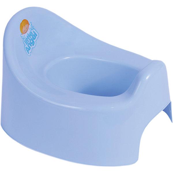 Горшок Im, Little Angel, голубойДетские горшки<br>Горшок Im, Little Angel, голубой изготовлен отечественным производителем  из высококачественного экологически безопасного и прочного пластика. Горшок состоит из двух частей: корпуса и съемной внутренней части, что обеспечивает удобство в уходе за ним. У горшков данной серии имеется завышенная задняя спинка и боковые бортики. Горшок Im, Little Angel, голубой подходит даже для тех детей, которые только учатся сидеть. Горшок отличается высокой устойчивостью, что защищает его от опрокидывания.     <br>Горшок Im, Little Angel, голубой имеет компактные размеры, поэтому его можно брать с собой в путешествия. Кроме того, он достаточно прост в уходе ? легко моется водой.<br><br>Дополнительная информация:<br><br>- Предназначение: для дома<br>- Цвет: голубой<br>- Пол: для мальчика<br>- Материал: пластик<br>- Размер (Д*Ш*В): 28,5*23,7*18 см<br>- Вес: 239 г<br>- Особенности ухода: разрешается мыть<br><br>Подробнее:<br><br>• Для детей в возрасте: от 0 лет и до 3 лет<br>• Страна производитель: Россия<br>• Торговый бренд: Little Angel<br><br>Горшок Im, Little Angel, голубой можно купить в нашем интернет-магазине.<br><br>Ширина мм: 285<br>Глубина мм: 237<br>Высота мм: 180<br>Вес г: 239<br>Возраст от месяцев: 0<br>Возраст до месяцев: 36<br>Пол: Мужской<br>Возраст: Детский<br>SKU: 4881799