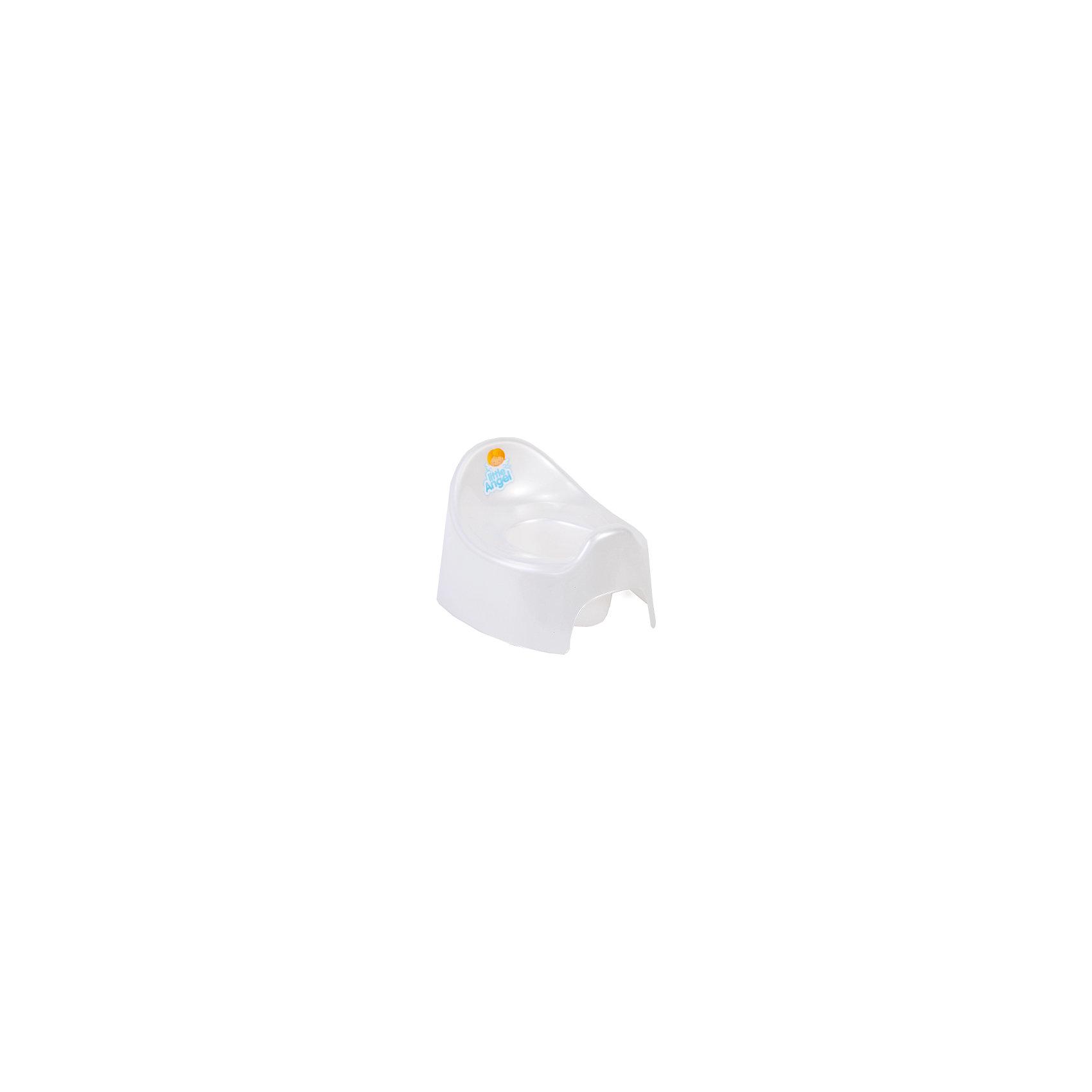 Горшок Im, Little Angel, белыйГоршки, сиденья для унитаза, стульчики-подставки<br>Горшок Im, Little Angel, белый изготовлен отечественным производителем  из высококачественного экологически безопасного и прочного пластика. Горшок состоит из двух частей: корпуса и съемной внутренней части, что обеспечивает удобство в уходе за ним. У горшков данной серии имеется завышенная задняя спинка и боковые бортики. Горшок Im, Little Angel, белый подходит даже для тех детей, которые только учатся сидеть. Горшок отличается высокой устойчивостью, что защищает его от опрокидывания.     <br>Горшок Im, Little Angel, белый имеет компактные размеры, поэтому его можно брать с собой в путешествия. Кроме того, он достаточно прост в уходе ? легко моется водой.<br><br>Дополнительная информация:<br><br>- Предназначение: для дома<br>- Цвет: белый<br>- Пол: для мальчика/для девочки<br>- Материал: пластик<br>- Размер (Д*Ш*В): 28,5*23,7*18 см<br>- Вес: 239 г<br>- Особенности ухода: разрешается мыть<br><br>Подробнее:<br><br>• Для детей в возрасте: от 0 лет и до 3 лет<br>• Страна производитель: Россия<br>• Торговый бренд: Little Angel<br><br>Горшок Im, Little Angel, белый можно купить в нашем интернет-магазине.<br><br>Ширина мм: 285<br>Глубина мм: 237<br>Высота мм: 180<br>Вес г: 239<br>Возраст от месяцев: 0<br>Возраст до месяцев: 36<br>Пол: Унисекс<br>Возраст: Детский<br>SKU: 4881801