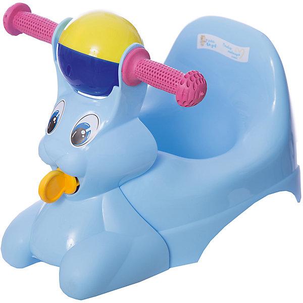 Горшок-игрушка Зайчик, Little Angel, голубойДетские горшки и писсуары<br>Горшок-игрушка Зайчик, Little Angel, голубой изготовлен отечественным производителем  из высококачественного экологически безопасного и прочного пластика. Горшок состоит из двух частей: самого горшка и прикрепляющейся к его корпусу игрушки. Игрушка имеет форму зайчика с двумя ручками и погремушкой посередине. Сам горшок имеет классическую анатомическую форму, поэтому подходит как для мальчиков, так и для девочек. Горшок отличается высокой устойчивостью, что защищает его от опрокидывания. Кроме того, он достаточно прост в уходе ? легко моется водой. Эксплуатировать горшок можно как с игрушкой, так и без нее.<br><br>Дополнительная информация:<br><br>- Предназначение: для дома<br>- Цвет: голубой<br>- Пол: для мальчика<br>- Материал: пластик<br>- Размер (Д*Ш*В): 42*29*31 см<br>- Вес: 715 г<br>- Особенности ухода: разрешается мыть<br><br>Подробнее:<br><br>• Для детей в возрасте: от 0 лет и до 3 лет<br>• Страна производитель: Россия<br>• Торговый бренд: Little Angel<br><br>Горшок-игрушка Зайчик, Little Angel, голубой можно купить в нашем интернет-магазине.<br>Ширина мм: 420; Глубина мм: 290; Высота мм: 310; Вес г: 715; Возраст от месяцев: 0; Возраст до месяцев: 36; Пол: Мужской; Возраст: Детский; SKU: 4881803;