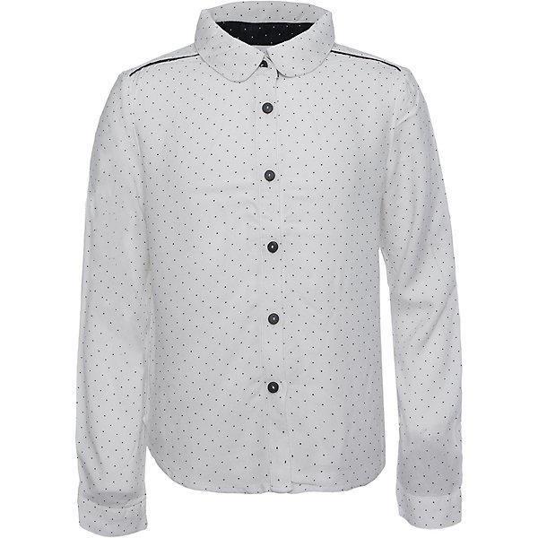 Блузка для девочки SELAБлузки и рубашки<br>Такая стильная блузка в мелкий горошек будет по вкусу каждой моднице. <br>Блузка свободного кроя, поэтому она отлично подойдет к юбке и брюкам.<br><br>Дополнительная информация:<br><br>- Свободный крой.<br>- Длинный рукав, с манжетой.<br>- Цвет: белый.<br>- Состав: вискоза - 100%<br>- Бренд: SELA<br>- Коллекция: осень-зима 2016-2017<br><br>Купить блузку для девочки от SELA можно в нашем магазине.<br><br>Ширина мм: 186<br>Глубина мм: 87<br>Высота мм: 198<br>Вес г: 197<br>Цвет: белый<br>Возраст от месяцев: 60<br>Возраст до месяцев: 72<br>Пол: Женский<br>Возраст: Детский<br>Размер: 116,152,146,140,134,128,122<br>SKU: 4883404