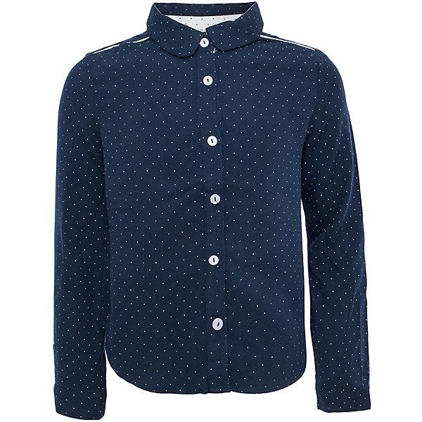 Блузка для девочки SELAБлузки и рубашки<br>Такая стильная блузка в мелкий горошек будет по вкусу каждой моднице. <br>Блузка свободного кроя, поэтому она отлично подойдет к юбке и брюкам.<br><br>Дополнительная информация:<br><br>- Свободный крой.<br>- Длинный рукав, с манжетой.<br>- Цвет: темно-синий.<br>- Состав: вискоза - 100%<br>- Бренд: SELA<br>- Коллекция: осень-зима 2016-2017<br><br>Купить блузку для девочки от SELA можно в нашем магазине.<br>Ширина мм: 186; Глубина мм: 87; Высота мм: 198; Вес г: 197; Цвет: синий; Возраст от месяцев: 60; Возраст до месяцев: 72; Пол: Женский; Возраст: Детский; Размер: 116,152,146,140,134,128,122; SKU: 4883412;