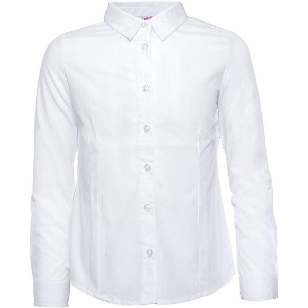 Блузка для девочки SELAБлузки и рубашки<br>Красивая блузка для девочки необходимый атрибут в гардеробе юной леди.<br><br>У блузки приталенный крой, поэтому она хорошо будет смотреться с юбками и брюками, так же ее можно одеть под аккуратный школьный сарафан.<br><br>Дополнительная информация:<br><br>- Приталенный крой.<br>- Длинный рукав, с манжетой.<br>- Цвет: белый.<br>- Состав: 50% хлопок, 50% ПЭ.<br>- Бренд: SELA<br>- Коллекция: осень-зима 2016-2017<br><br>Купить блузку для девочки от SELA можно в нашем магазине.<br><br>Ширина мм: 186<br>Глубина мм: 87<br>Высота мм: 198<br>Вес г: 197<br>Цвет: белый<br>Возраст от месяцев: 60<br>Возраст до месяцев: 72<br>Пол: Женский<br>Возраст: Детский<br>Размер: 116,152,122,128,134,140,146<br>SKU: 4883428
