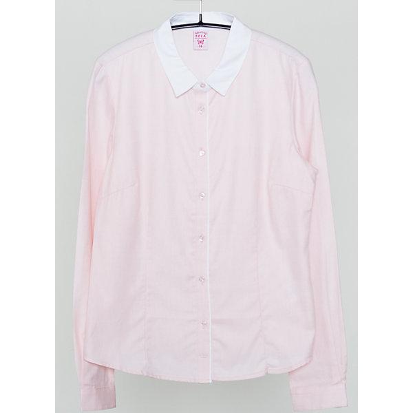 Блузка для девочки SELAБлузки и рубашки<br>Красивая блузка для девочки необходимый атрибут в гардеробе юной леди.<br><br>У блузки приталенный крой, поэтому она хорошо будет смотреться с юбками и брюками.<br><br>Такая блузка станет приятным сюрпризом для Вашей малышки.<br><br>Дополнительная информация:<br><br>- Приталенный крой.<br>- Длинный рукав, отложной воротничок.<br>- Цвет: коралловый<br>- Состав: хлопок 100%<br>- Бренд: SELA<br>- Коллекция: осень-зима 2016-2017<br><br>Купить блузку для девочки от SELA можно в нашем магазине.<br><br>Ширина мм: 186<br>Глубина мм: 87<br>Высота мм: 198<br>Вес г: 197<br>Цвет: розовый<br>Возраст от месяцев: 168<br>Возраст до месяцев: 180<br>Пол: Женский<br>Возраст: Детский<br>Размер: 170,158,164,152<br>SKU: 4883449